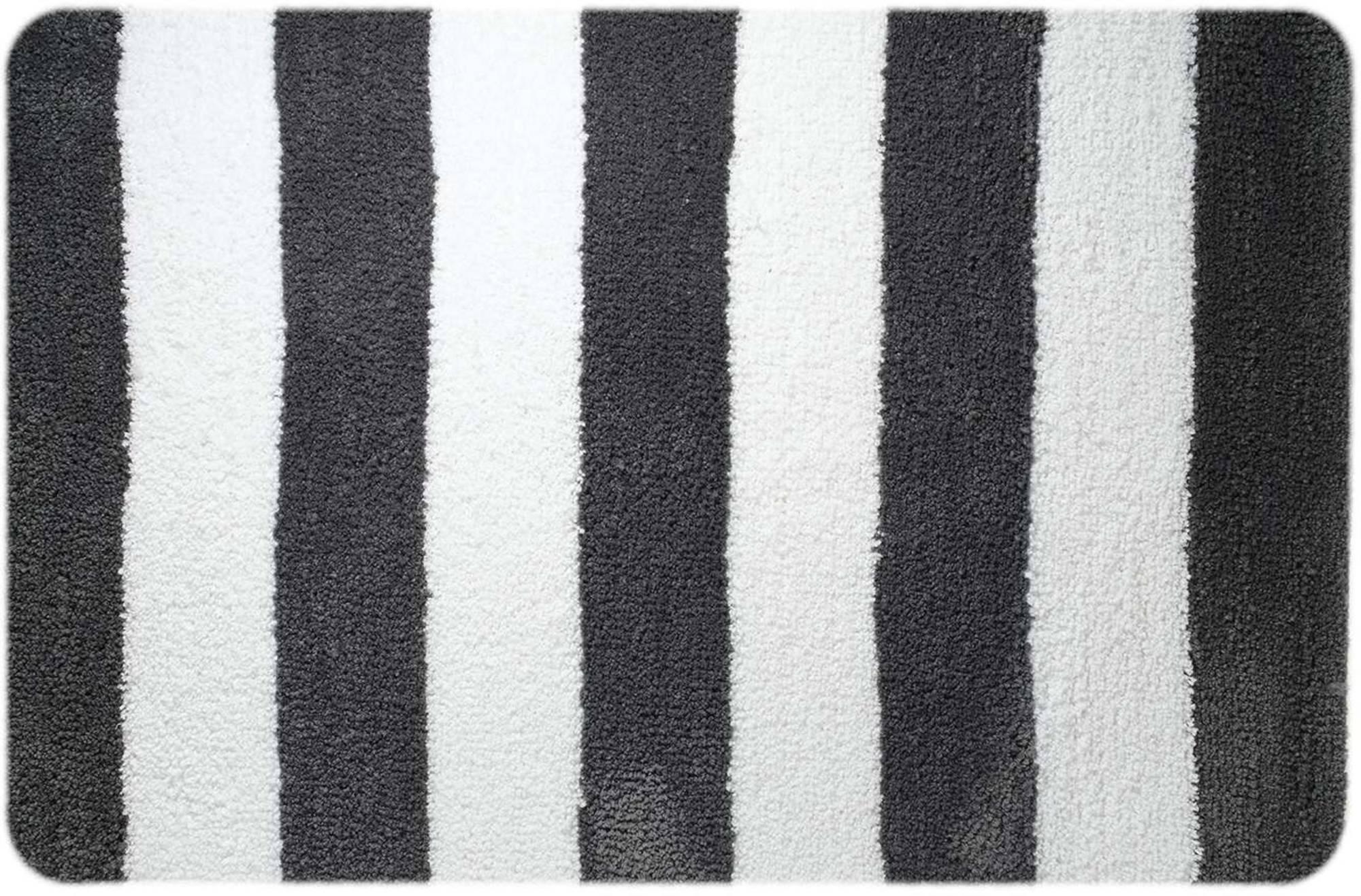 Sealskin linje badmat 60x90cm polyester Grijs