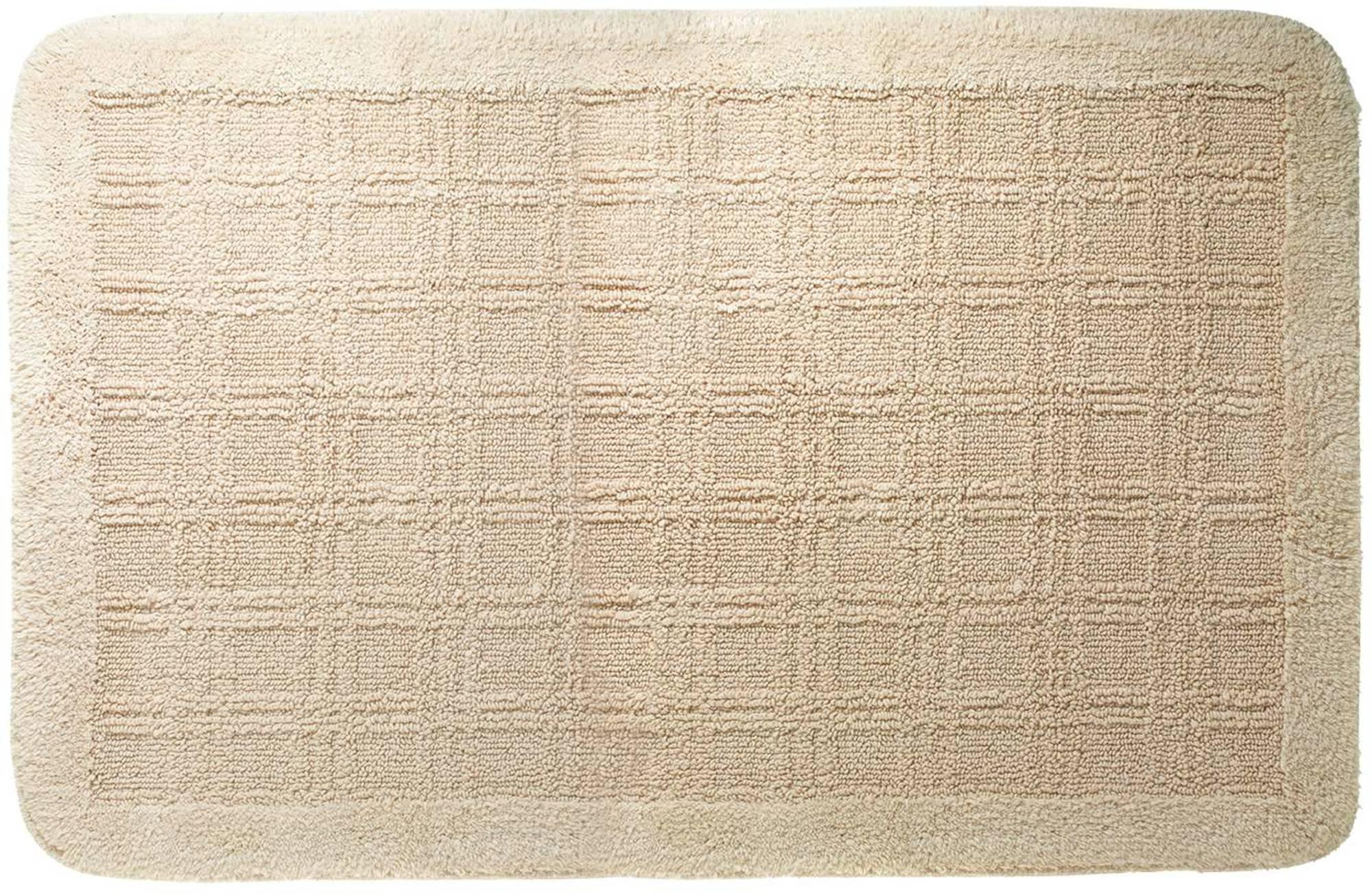 Sealskin Quadrant badmat 60x100cm katoen Natuur