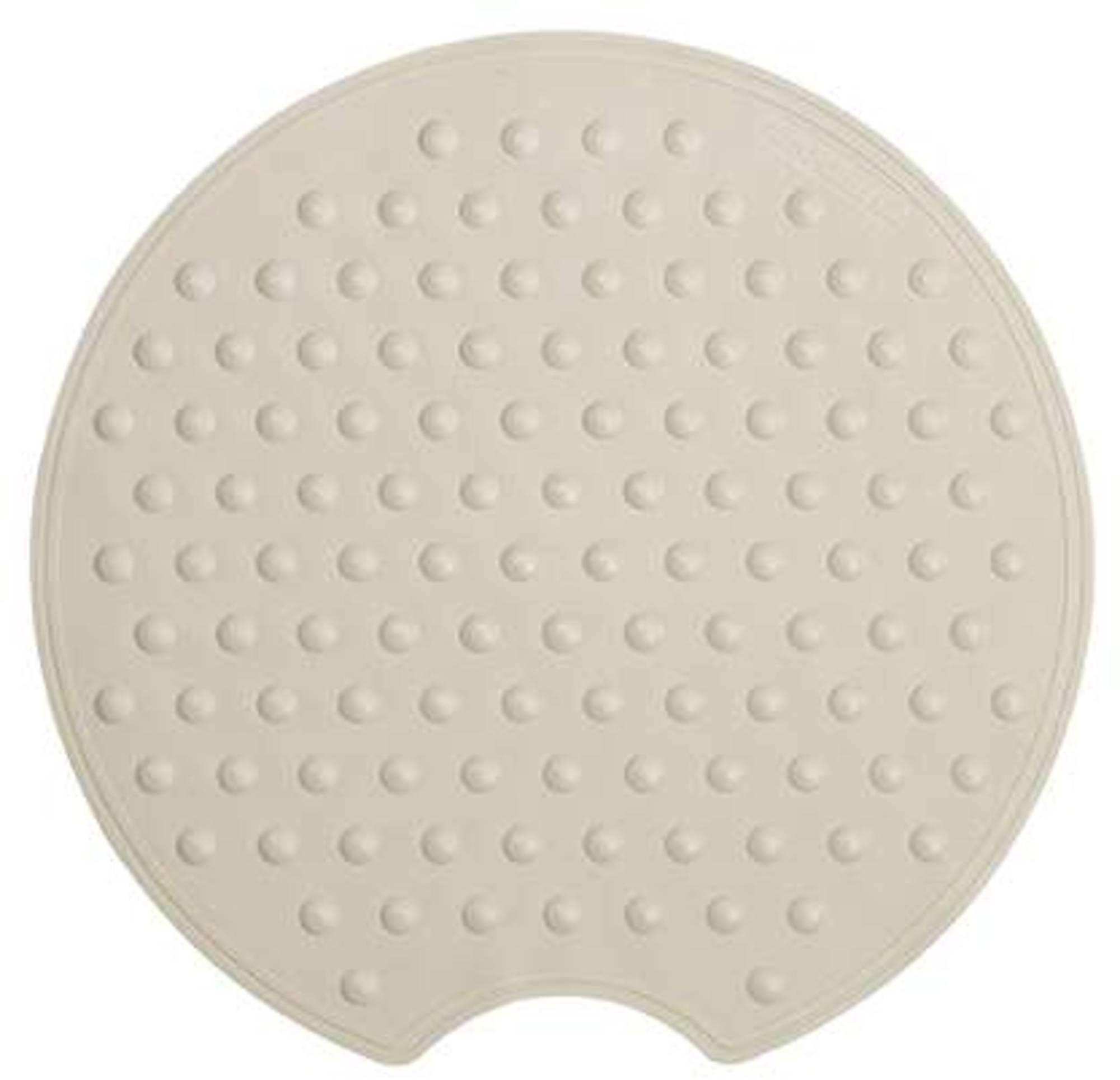 Sealskin Rotondo veiligheidsmat rubber rond ecru