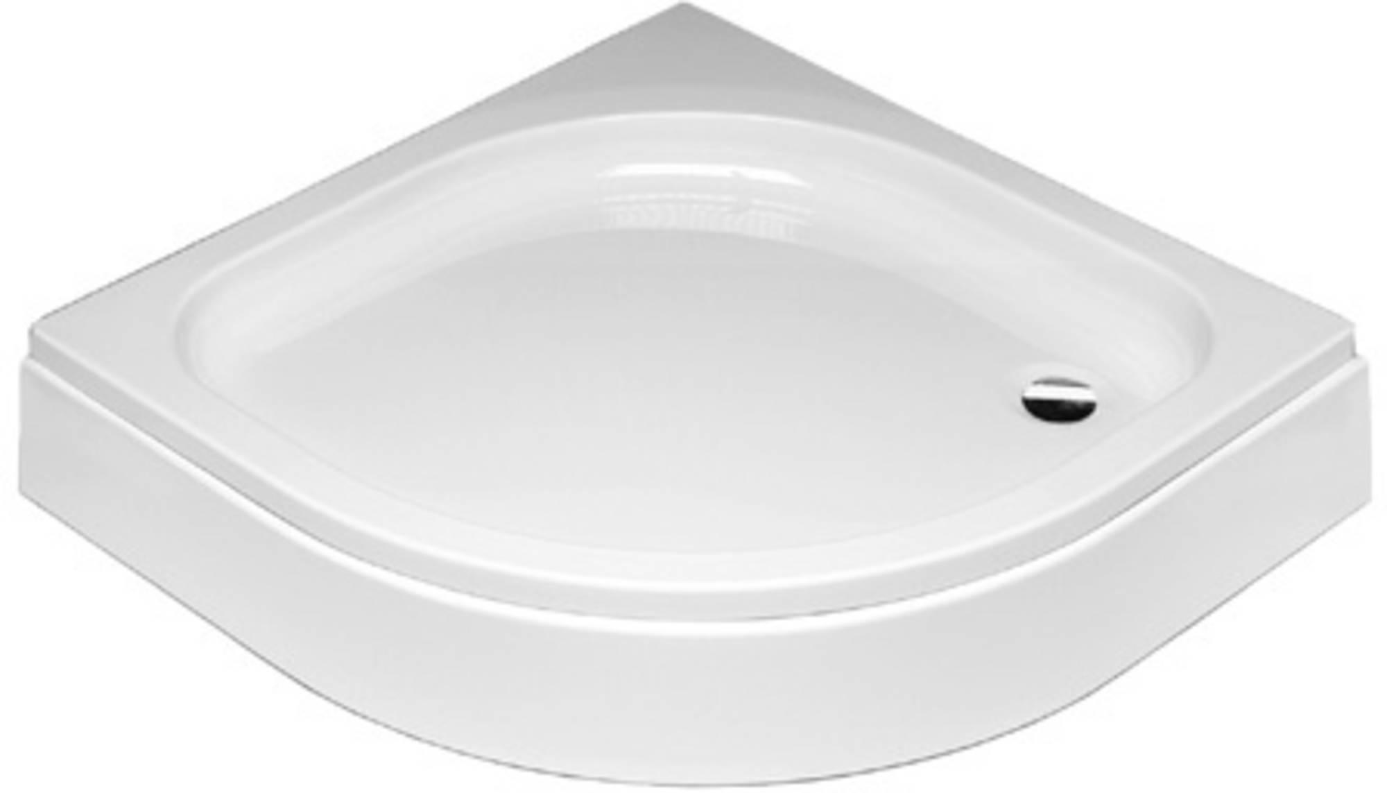 Sealskin Comfort douchebak kwartrond 90x90 cm opbouw wit