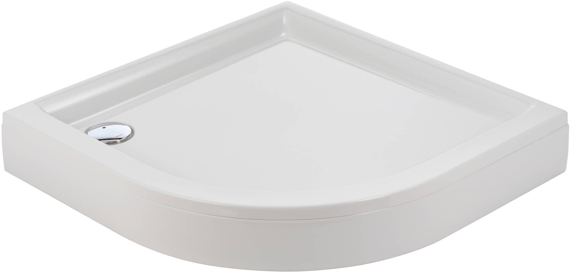 Sealskin Senso douchebak 1-4 rond 90x90cm met voorpaneel, wit