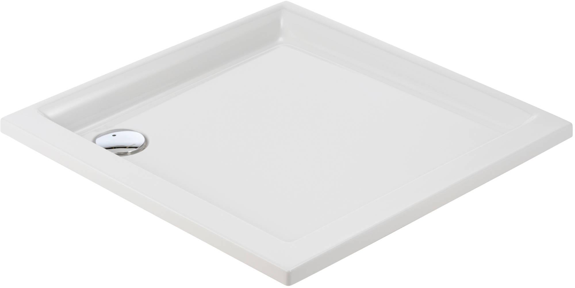 Sealskin Senso douchebak vierkant 90x90cm inbouw, wit