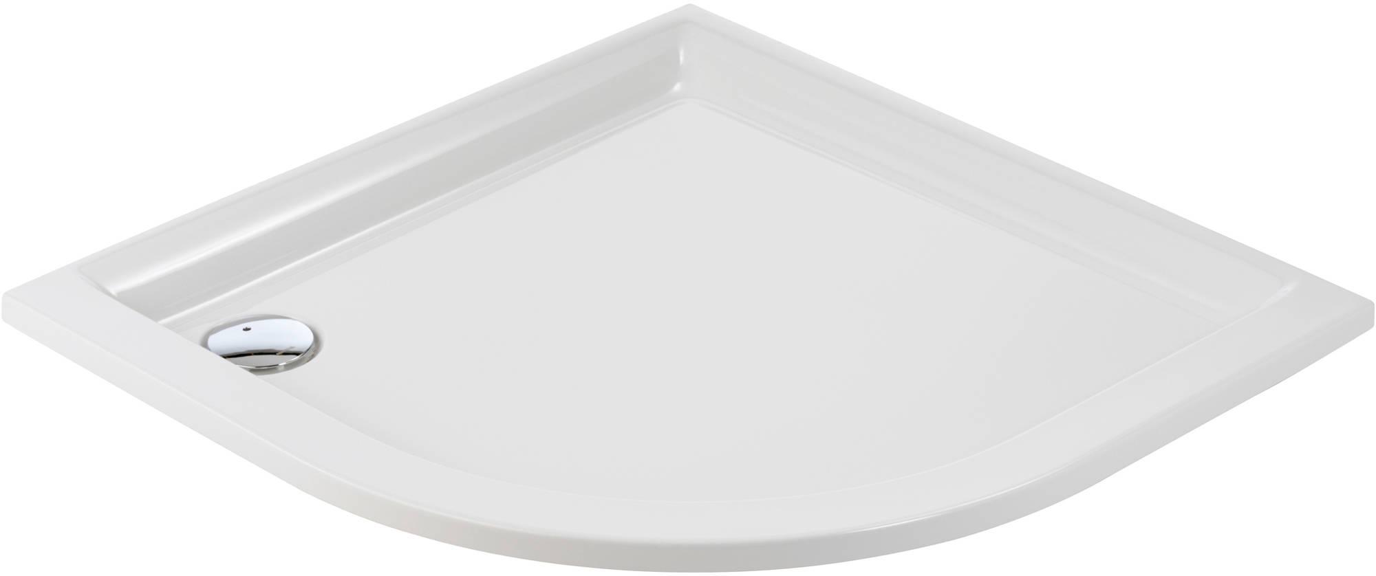 Sealskin Senso douchebak 1-4 rond 90x90cm inbouw, wit