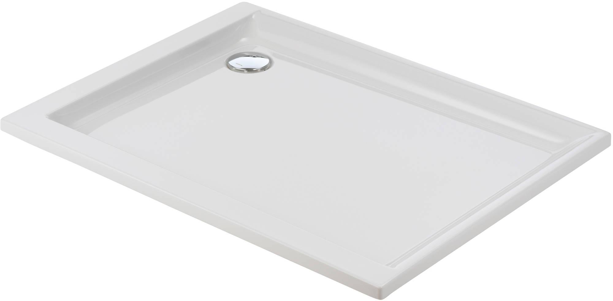 Sealskin Senso douchebak rechthoek 120x90 inbouw, wit