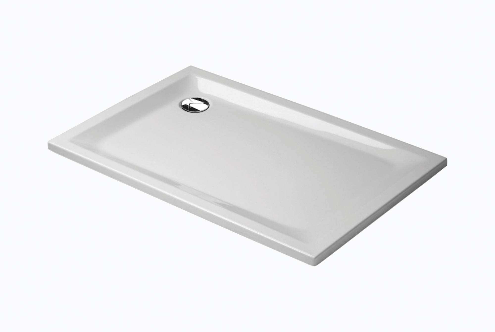 Sealskin Spazio douchebak rechthoek 120x90cm, wit