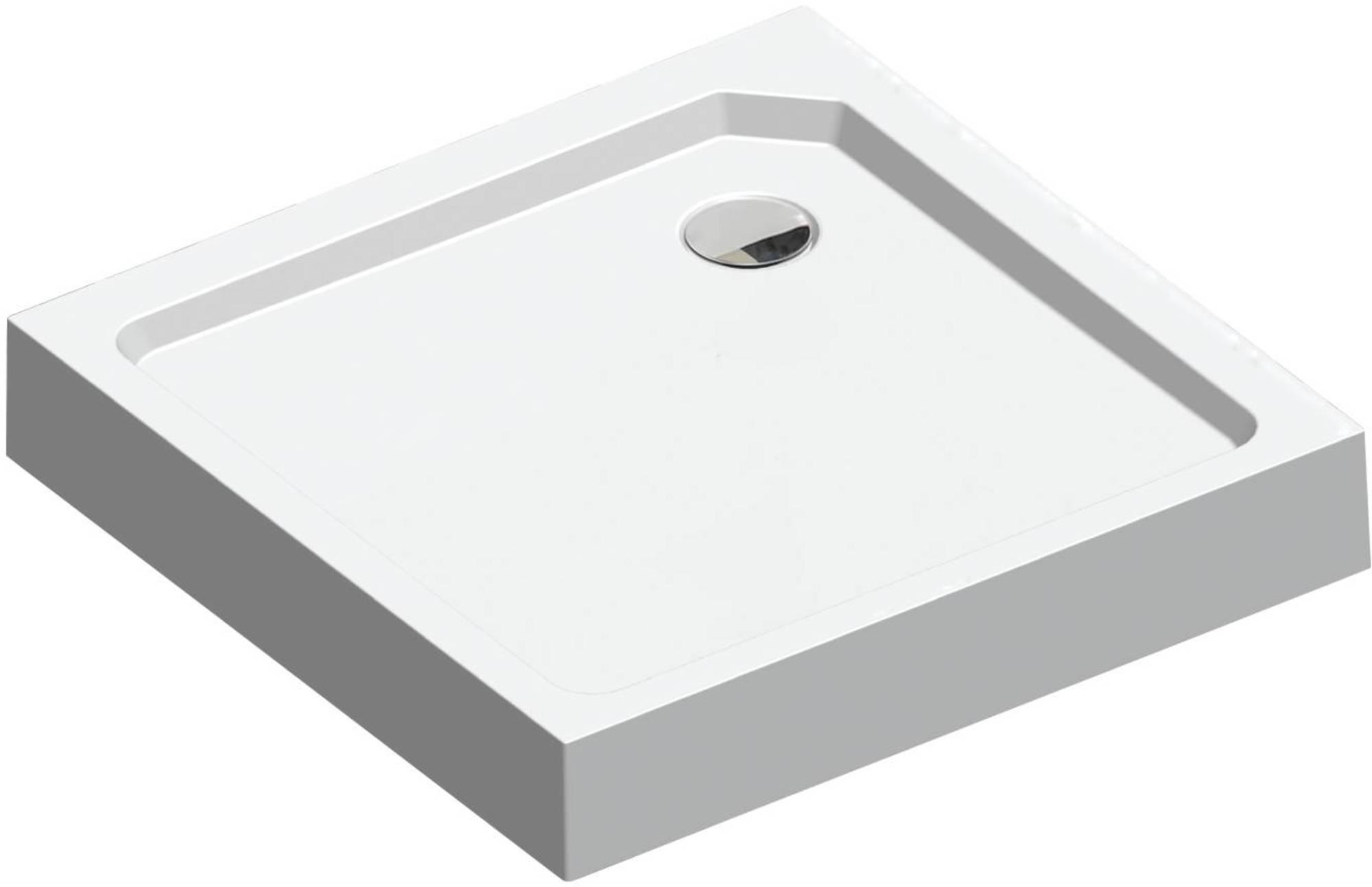 Sealskin Fusion douchebak vierkant opbouw 90