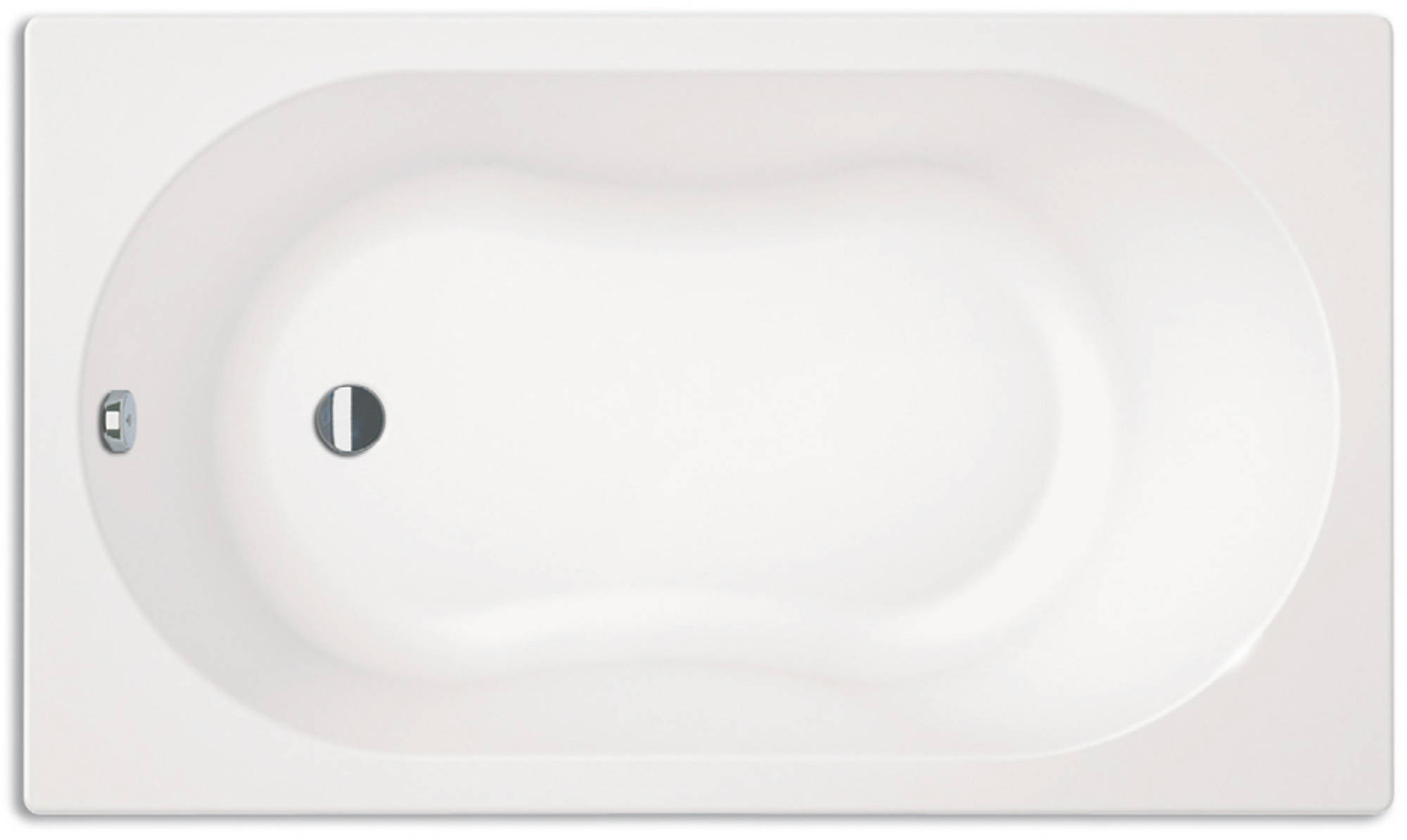 Sealskin Optimo minibad 120x70cm wit