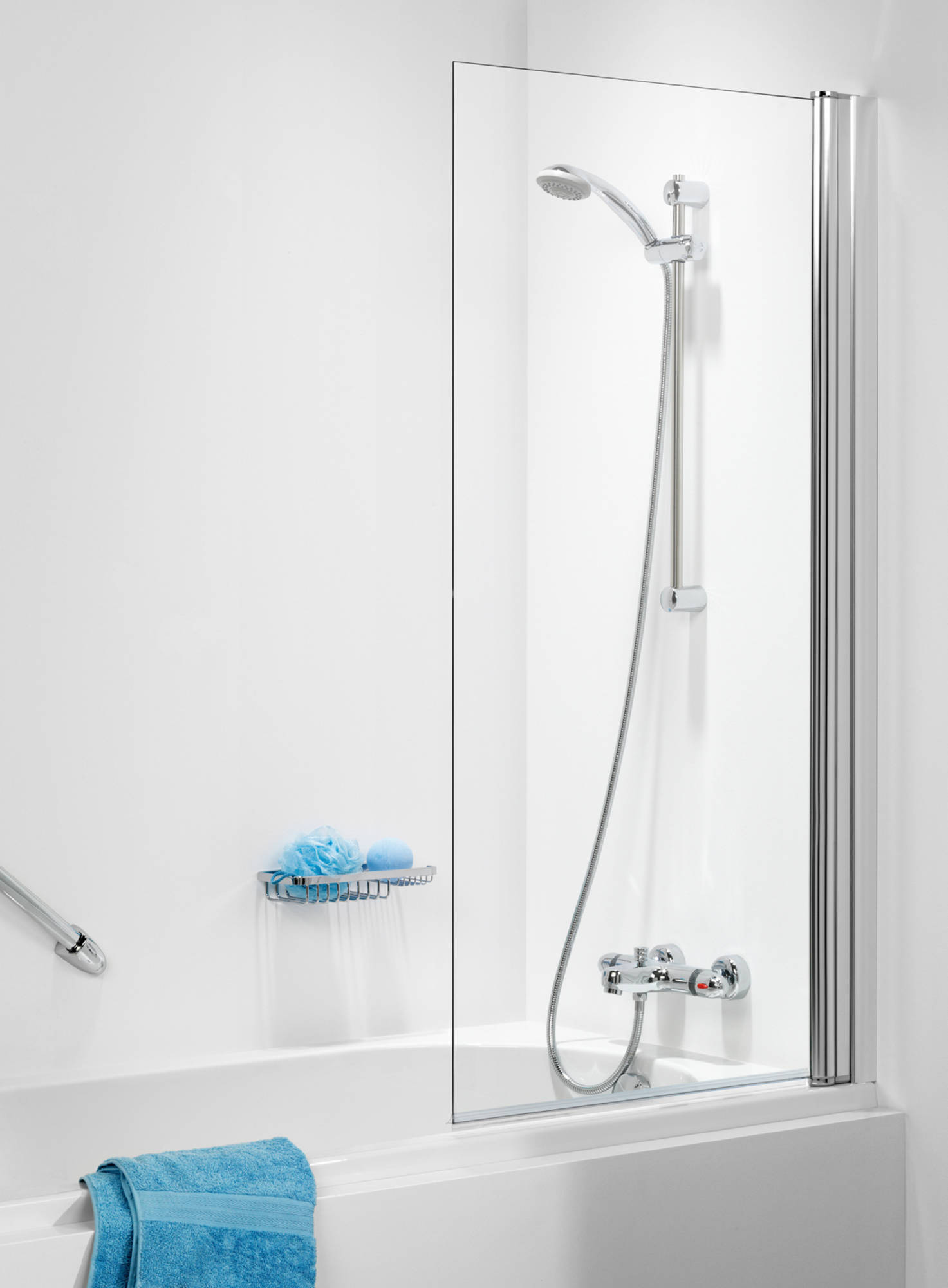 Get Wet 105 SH-BW70 Badwand met 6mm helder veiligheidsglas