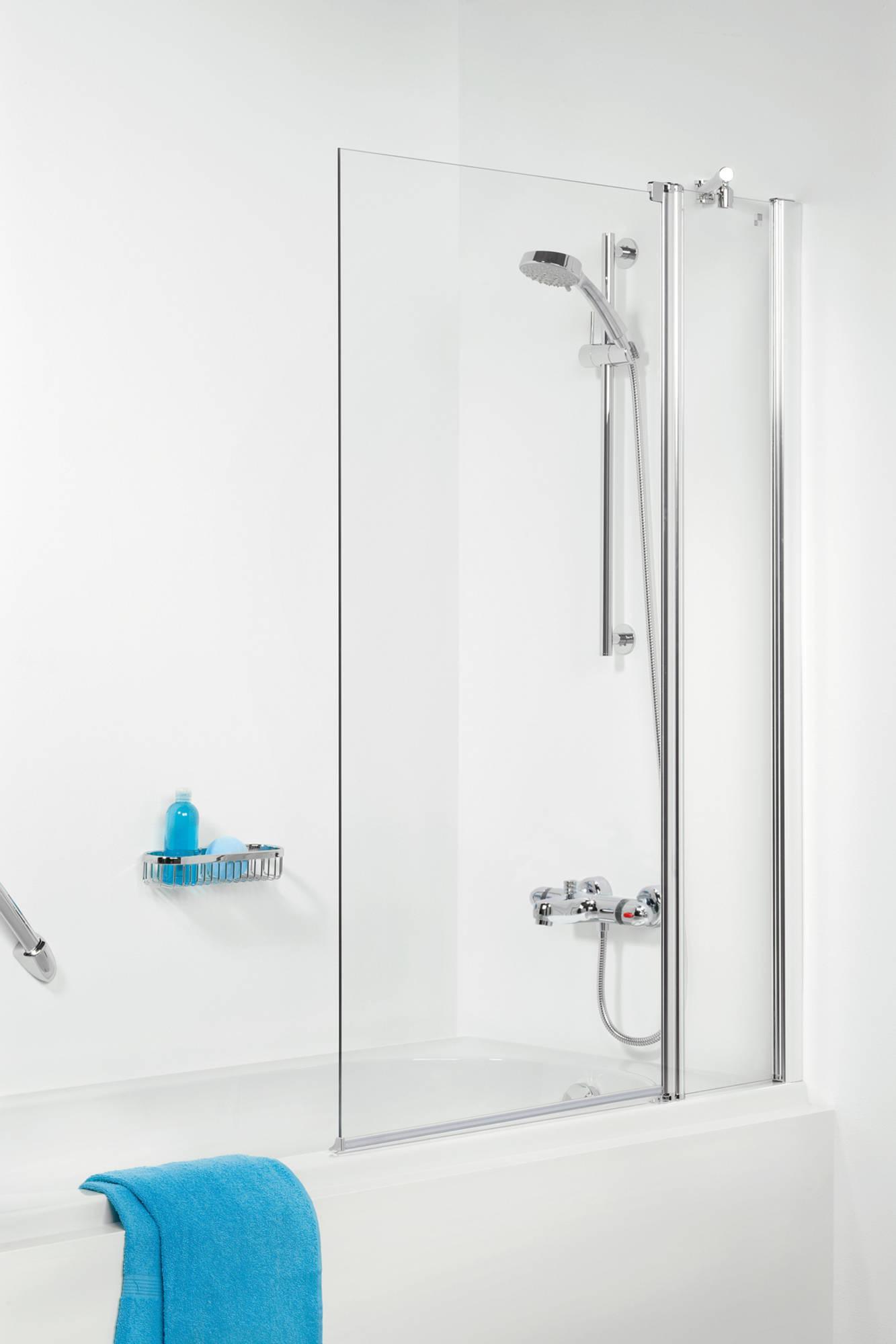 Get Wet 105 SH-BW100 Badwand met 6mm helder veiligheidsglas