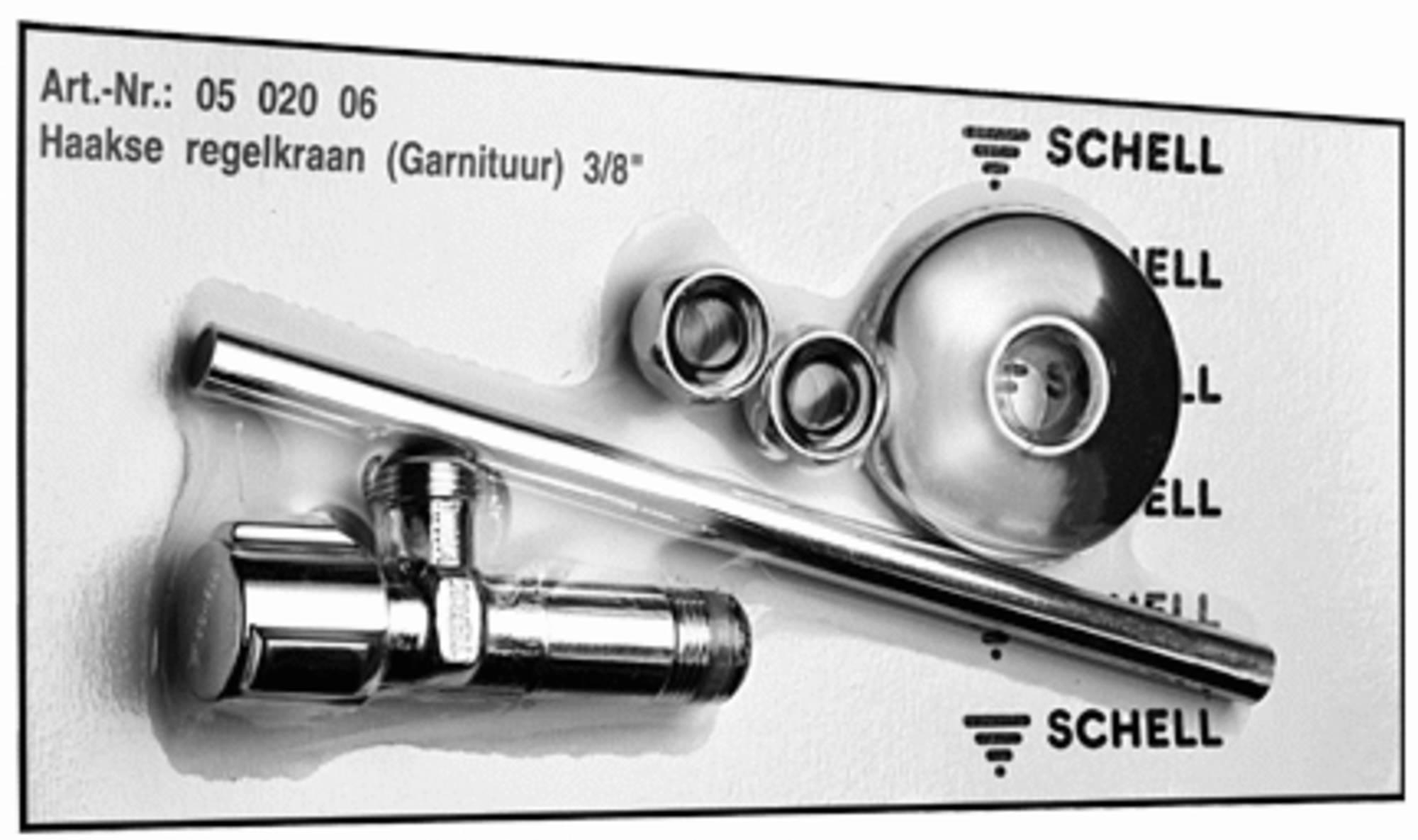 Schell Comfort reservoirhoekstopkraan chroom 050200699