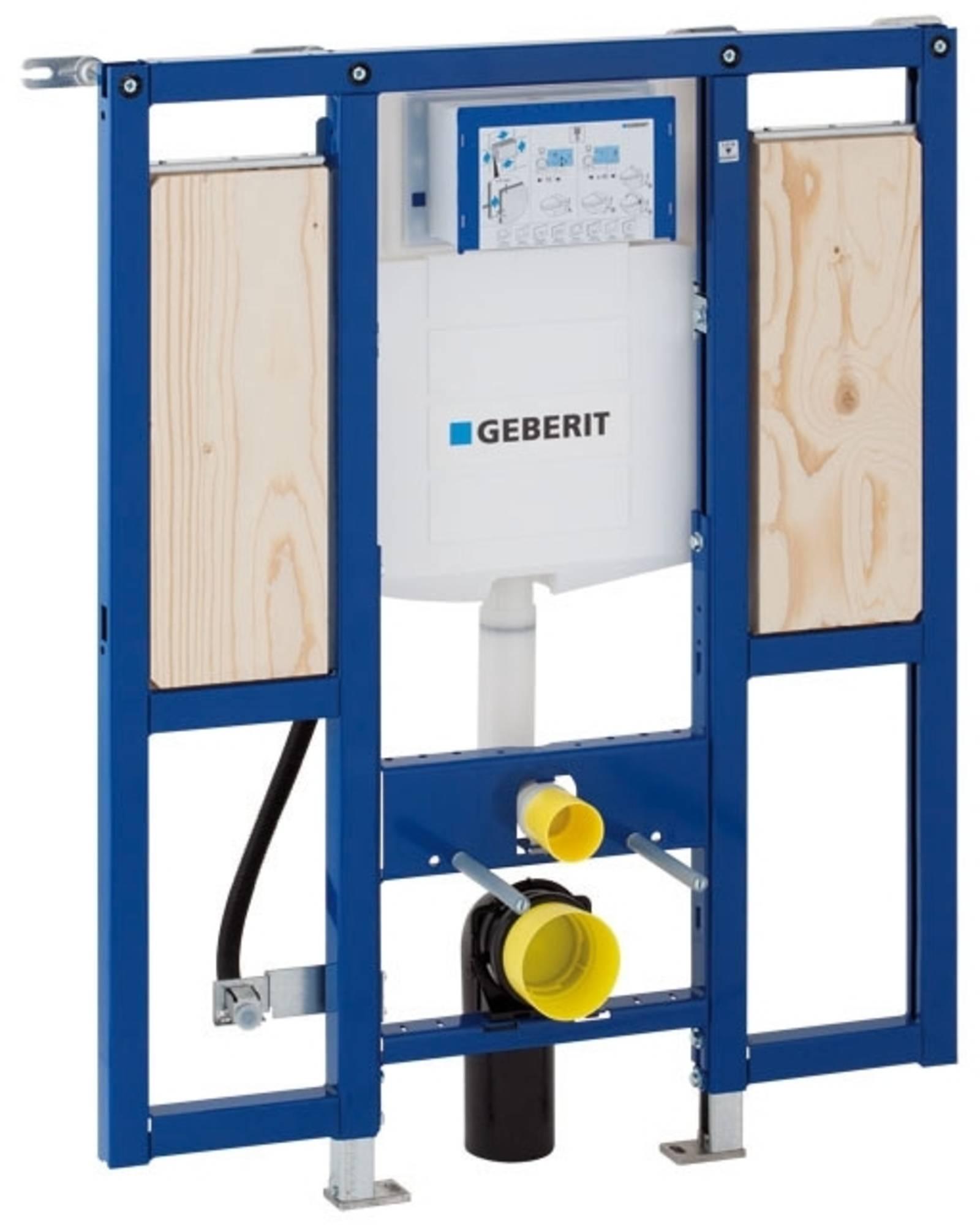Productafbeelding van Geberit Duofix WC element H112 met reservoir UP320 112cm met armsteunbevestiging excl.iso set 111375005
