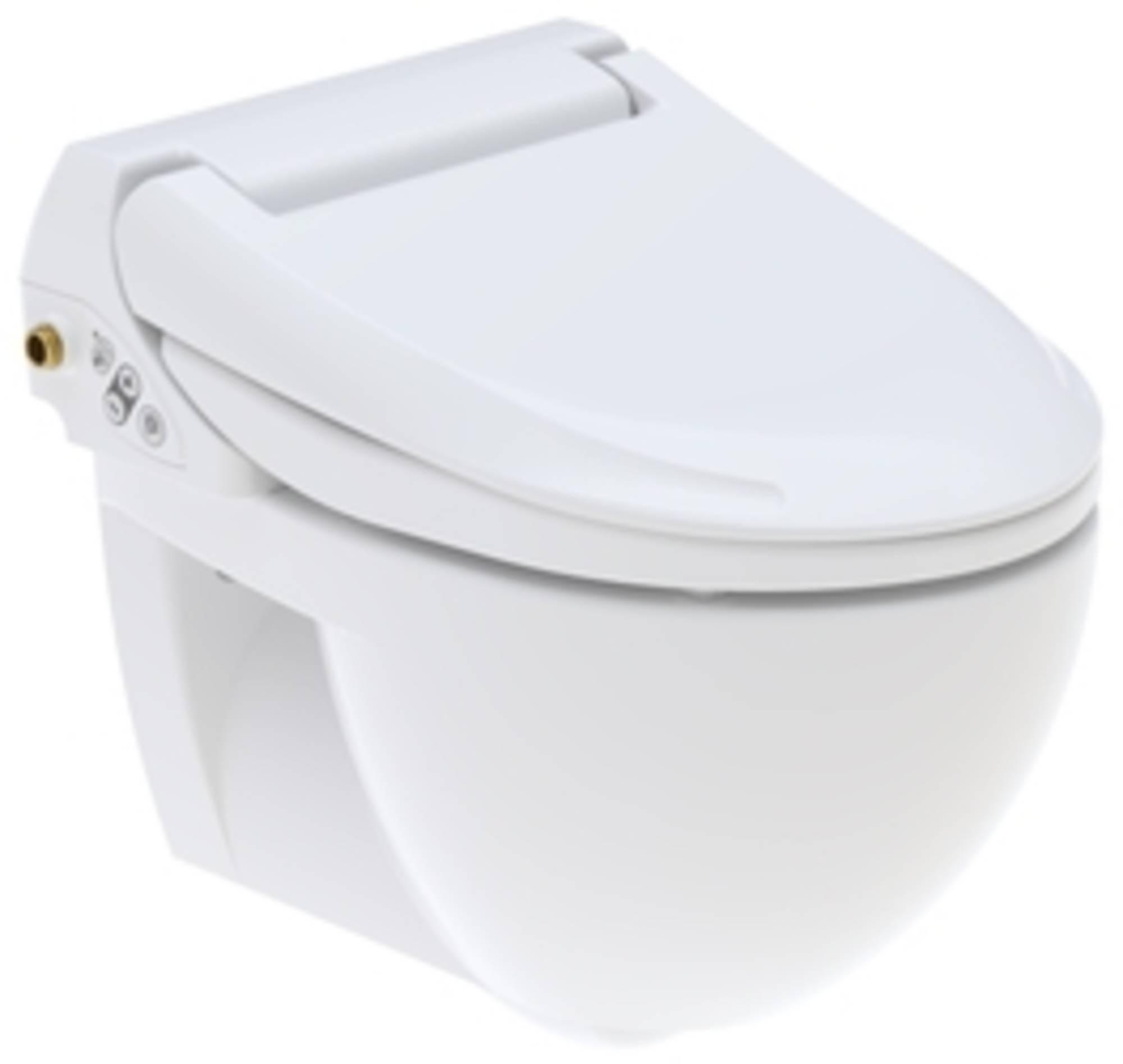 GEBERIT AQUACLEAN 4000 douche wc met closet model 1 (compl.met wateraansl WIT (146135111)