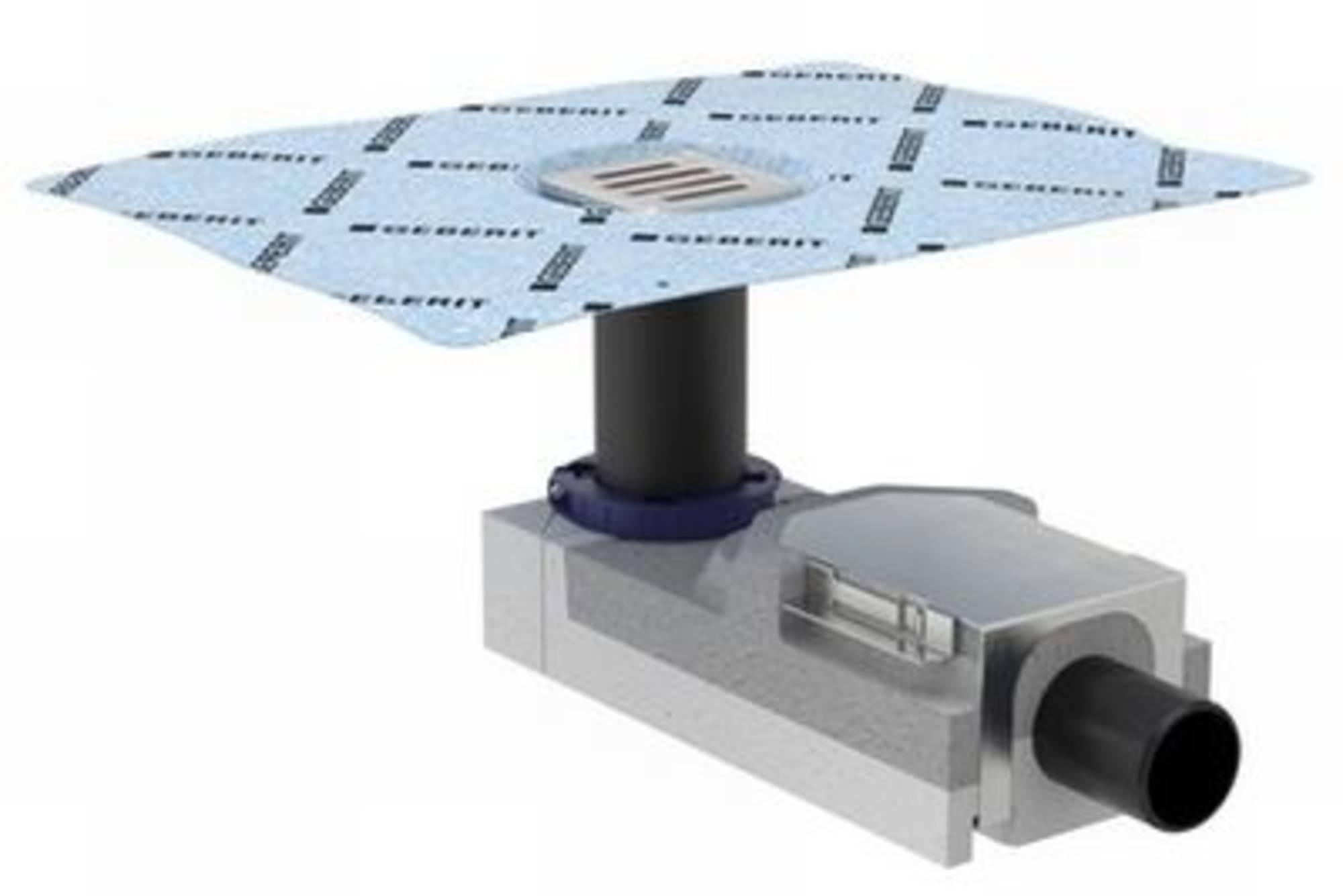 GEBERIT ruwbouwset vloerput sifonhoogte 50 mm. (154050001)