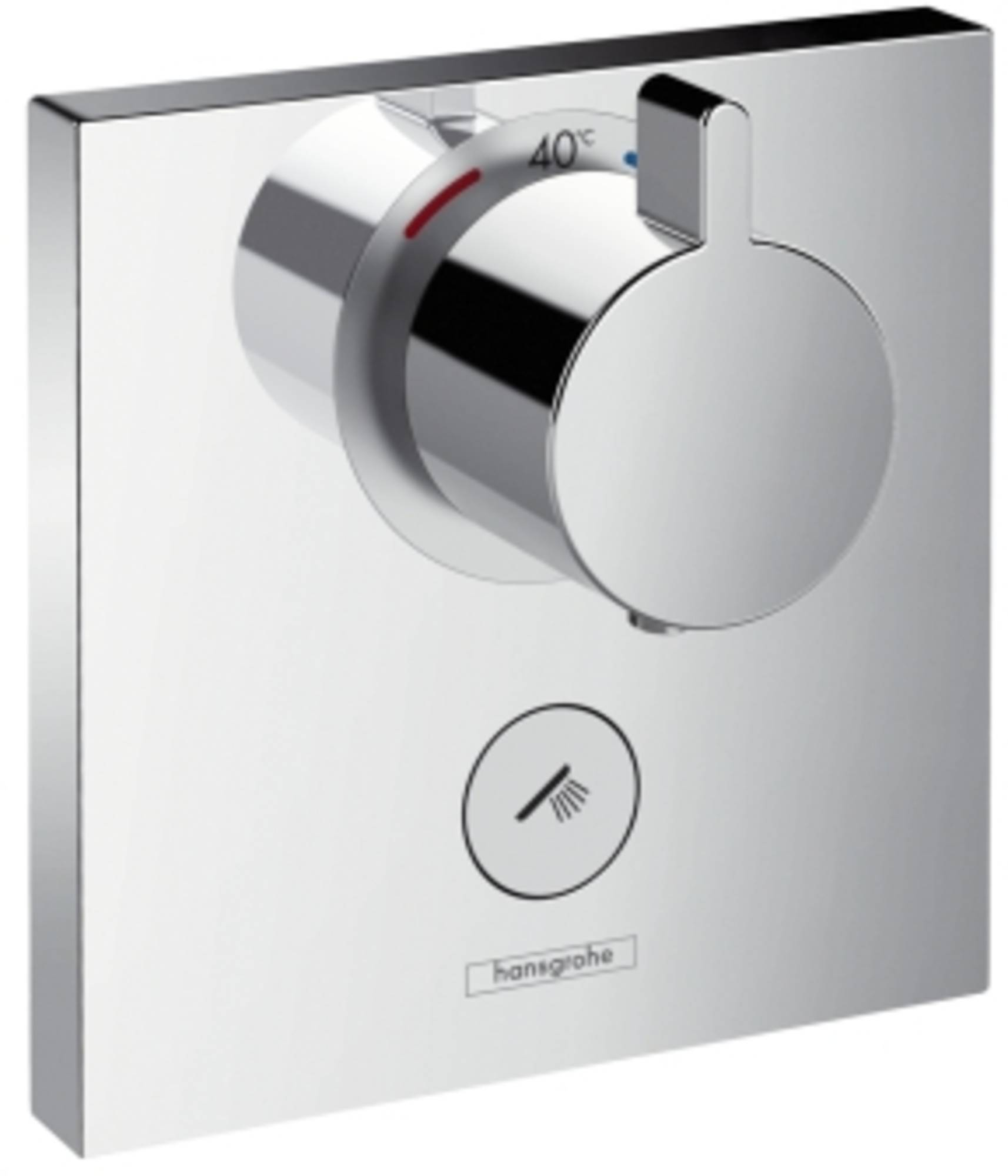 Hansgrohe ShowerSelect afbouwdeel inbouwdeel ibox bad-douchethermostaat chroom 15761000