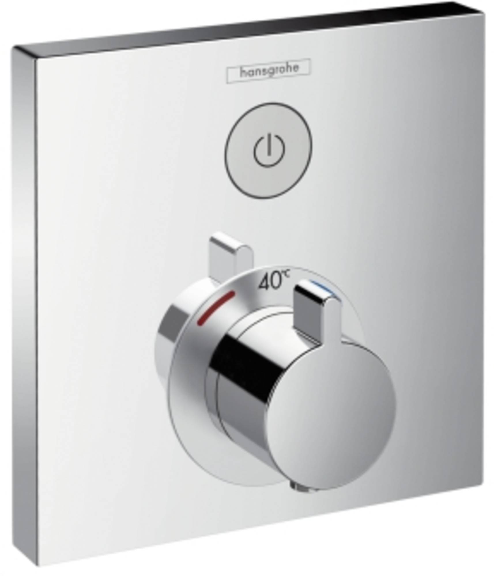 Hansgrohe ShowerSelect afbouwdeel inbouwdeel ibox douchethermostaat chroom 15762000