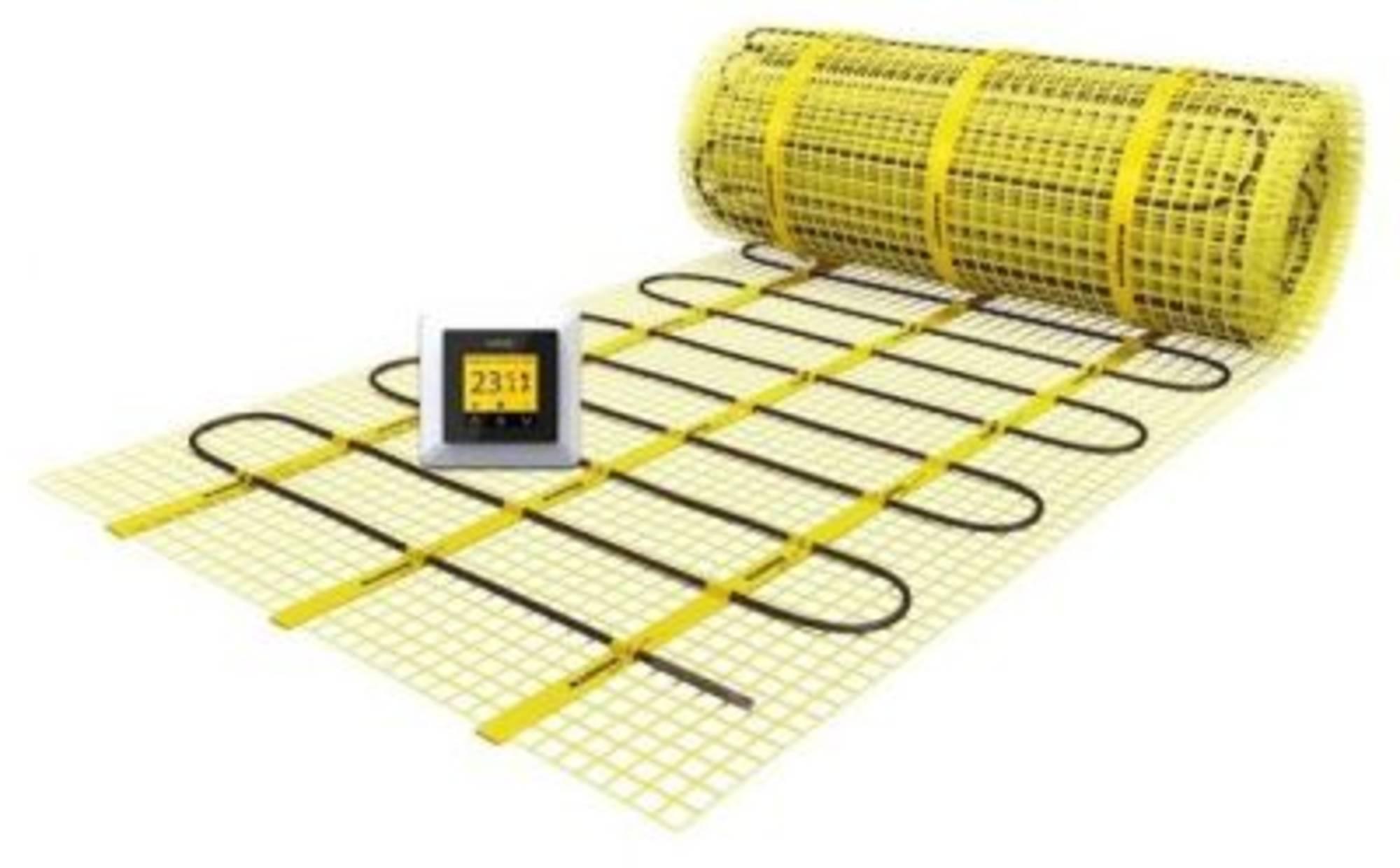 Magnum X-treme control verwarmingsmat set 2000x50 1500w 10 m2