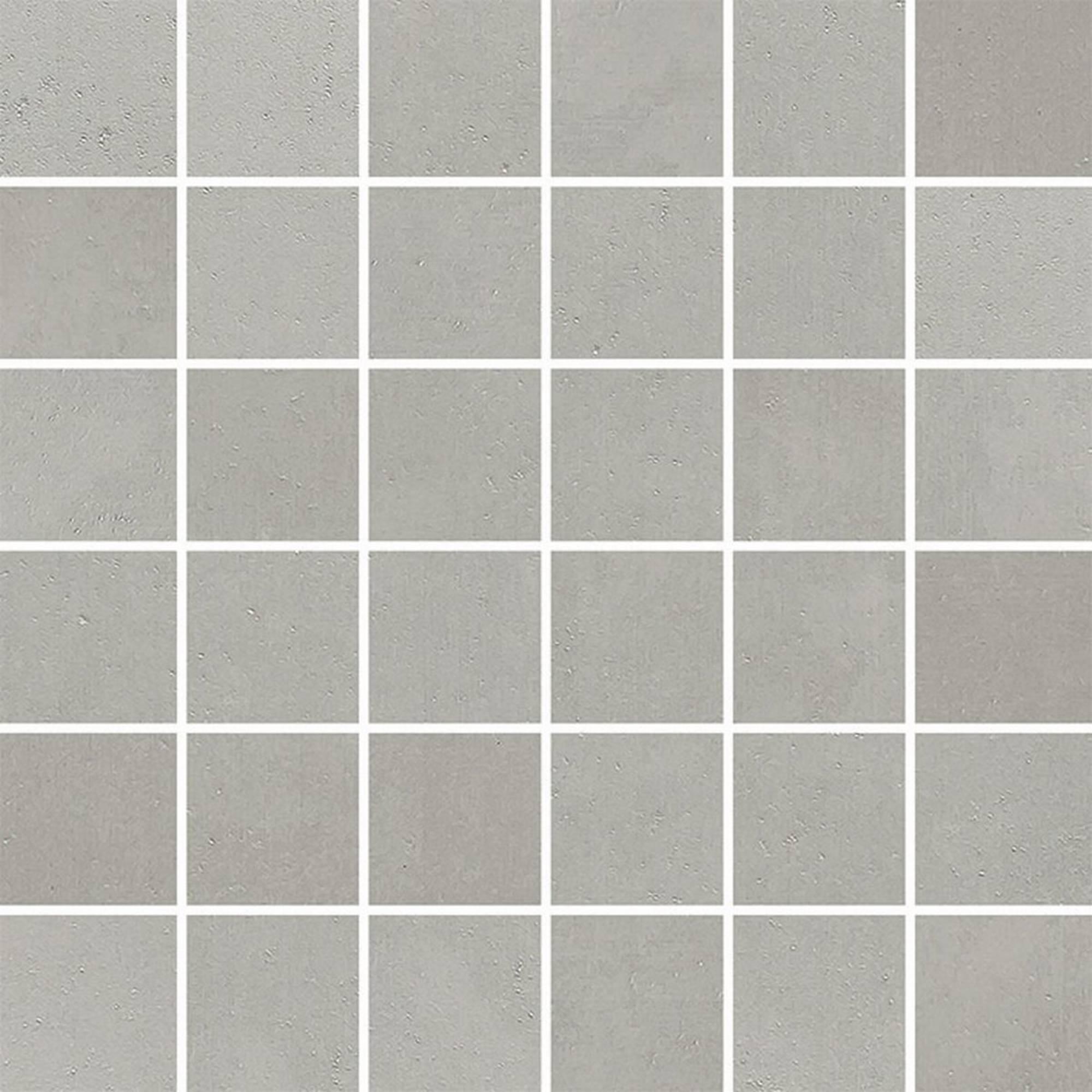 Villeroy & boch Century unlimited tegelmat 30x30 cm. blok 5 x 5 cm. a 11 stuks, midden grijs