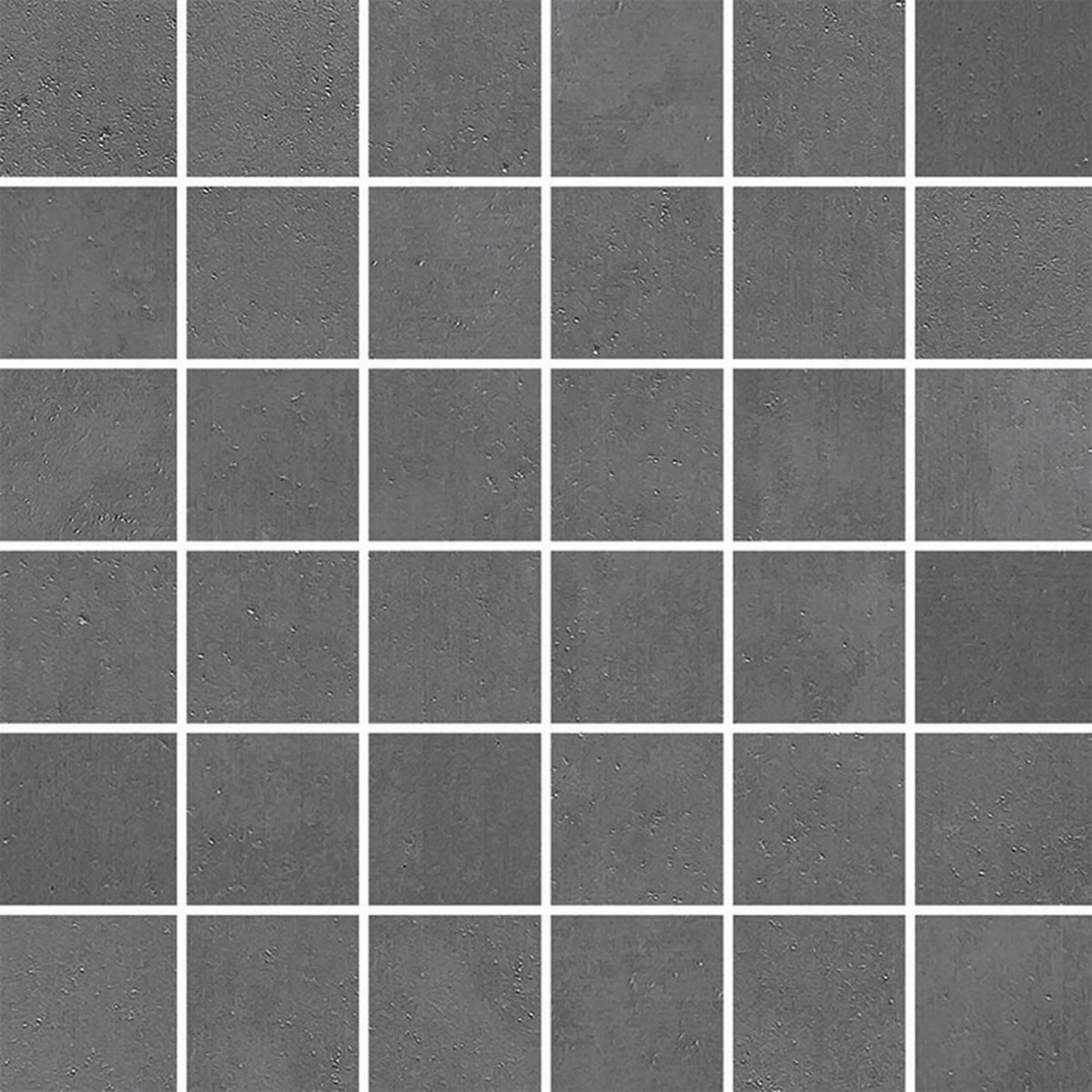 Villeroy & boch Century unlimited tegelmat 30x30 cm. blok 5 x 5 cm. a 11 stuks, donker grijs