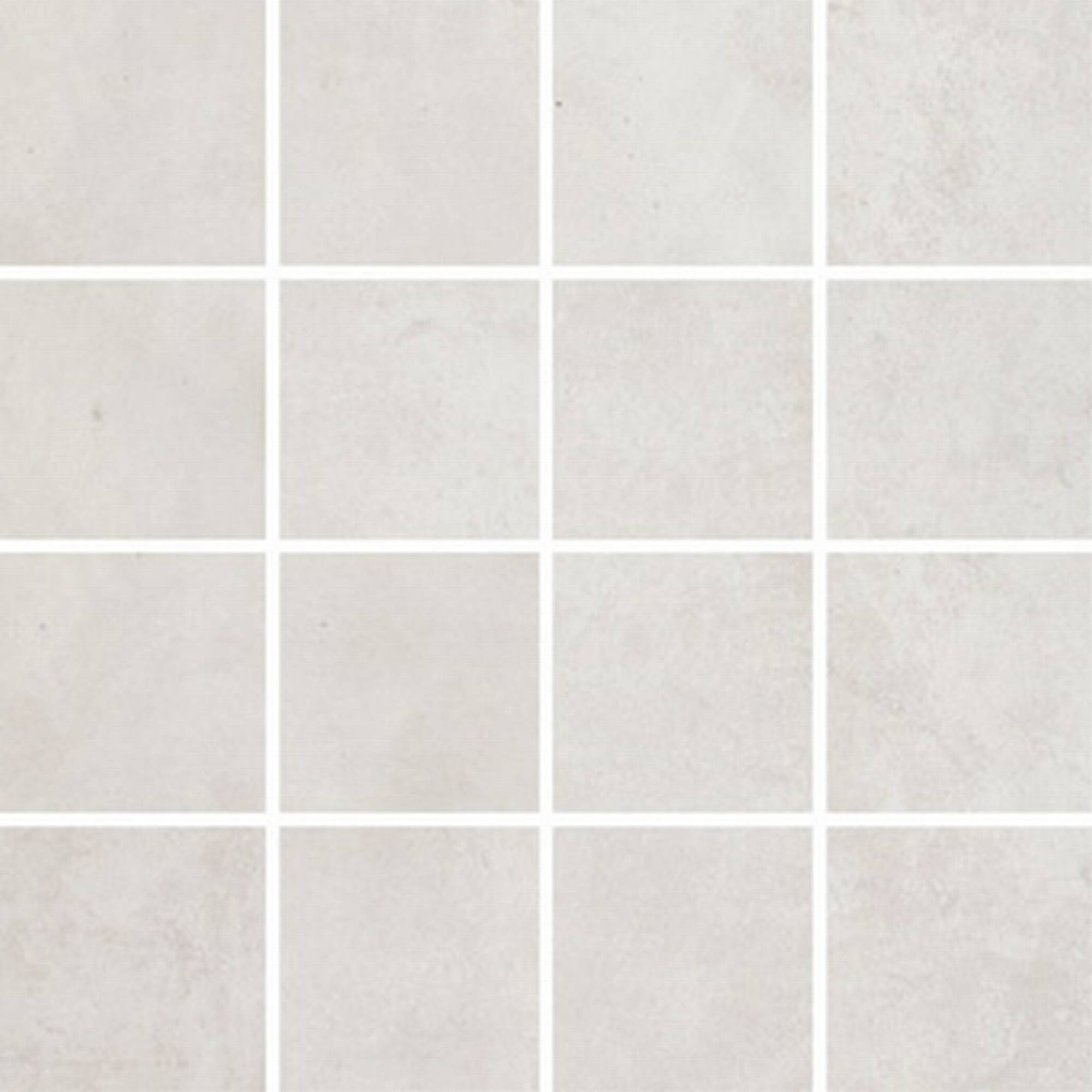Villeroy & boch Warehouse tegelmat 30 x 30 cm. blok 7,5 x 7,5 cm. a 11 stuks, wit-grijs