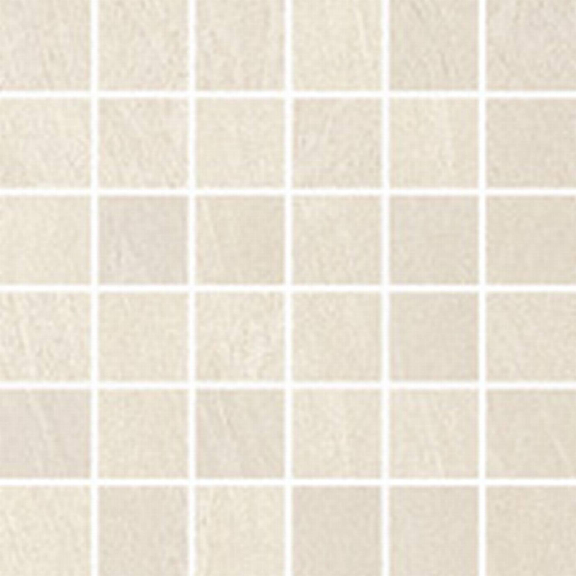 Villeroy & boch Aspen tegelmat 0.5 x 0.5 cm. blok 30 x 30 cm.a 11 stuks, creme-wit