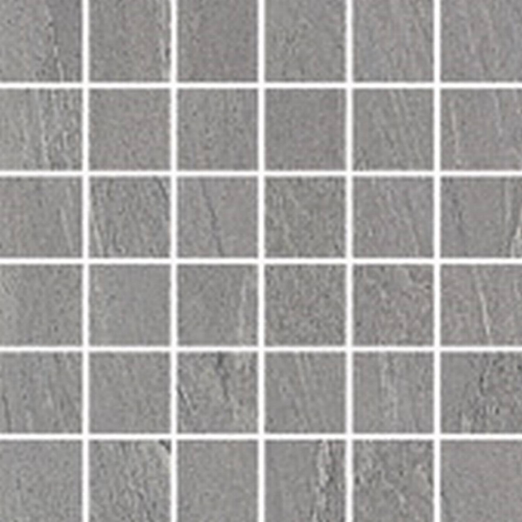 Villeroy & boch Aspen tegelmat 0.5 x 0.5 cm. blok 30 x 30 cm.a 11 stuks, licht grijs