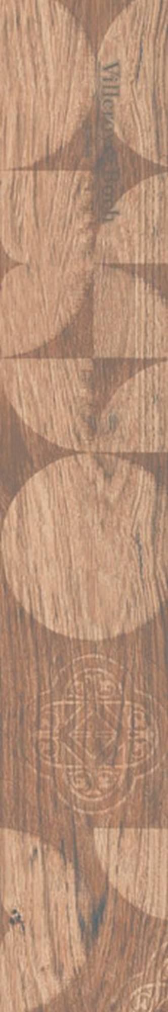Villeroy & boch Lodge decorstrook 20 x 120 cm. doos a 4 stuks, beige