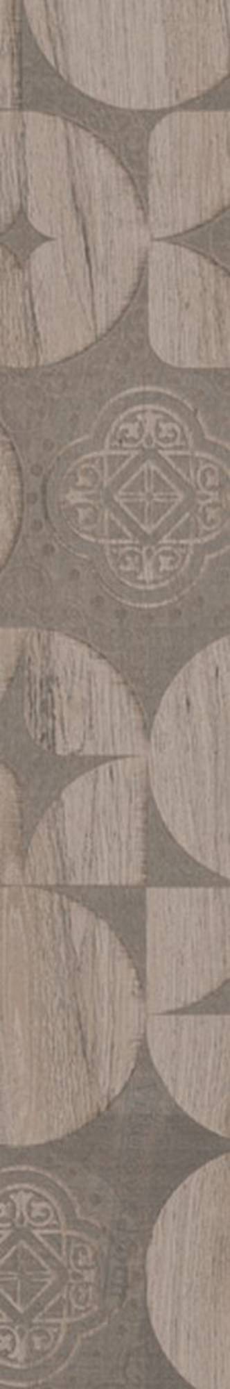 Villeroy & boch Lodge decorstrook 20 x 120 cm. doos a 4 stuks, grijs