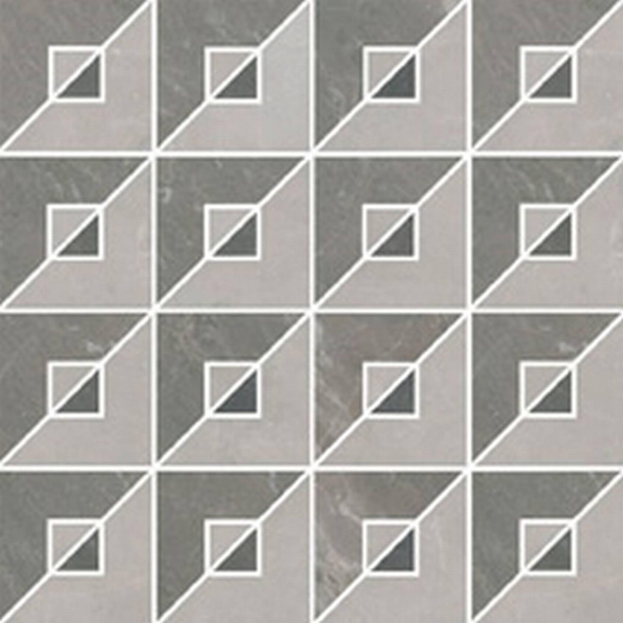 Villeroy & boch Astoria decortegel 37.5 x 37.5 cm., meerkleurig