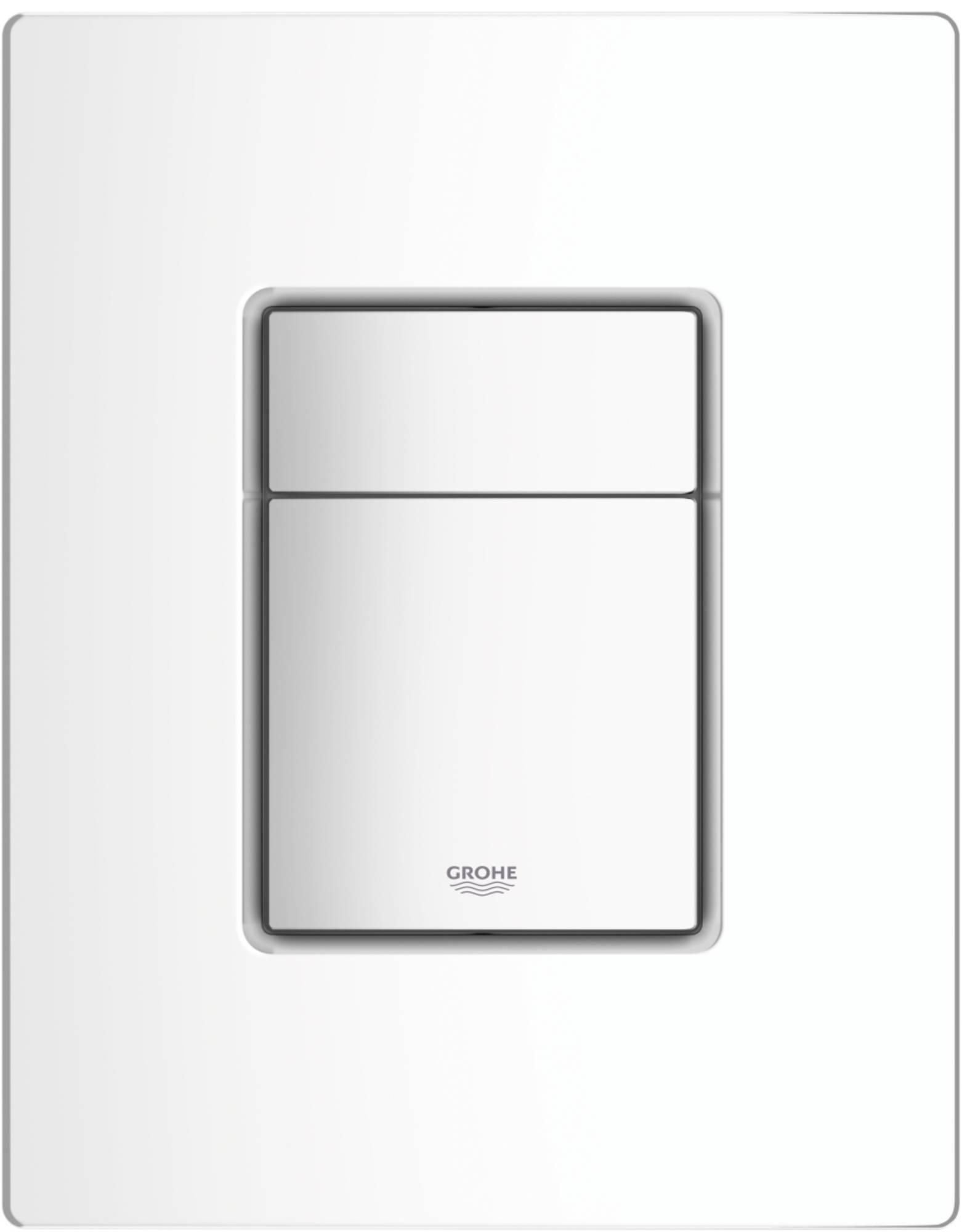 GROHE COSMO bedieningsplaat sl dual flush WIT (38732SH0)