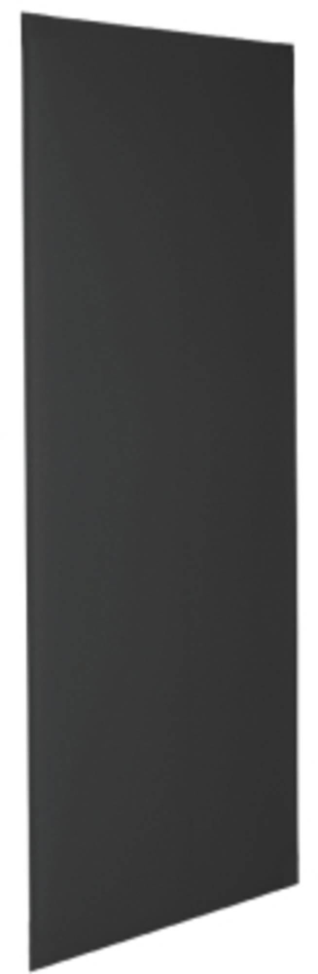 Geesa spectra plaat los v-urinoirscherm, zwart