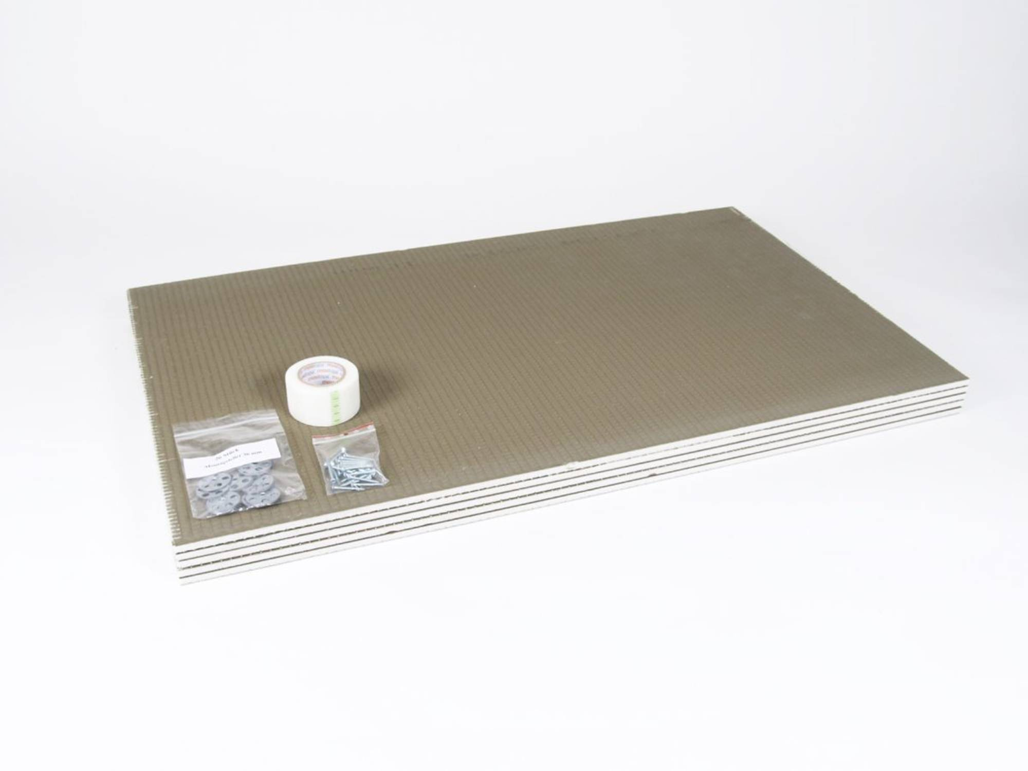MAGNUM ISOPLATE drukvaste isolatieplaat 5x60x100-1cm. 3m2 (630112)