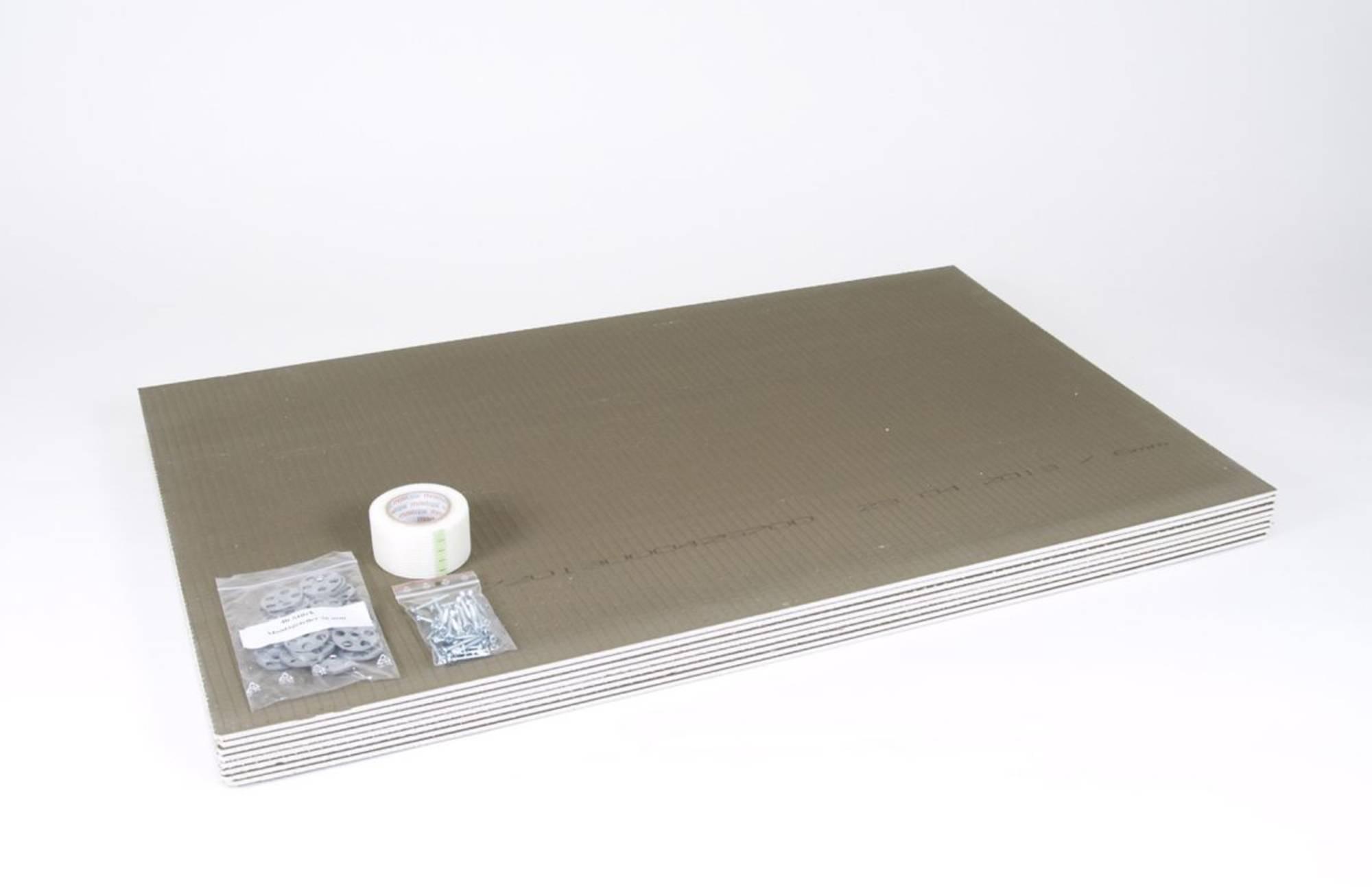 MAGNUM ISOPLATE drukvaste isolatieplaat 8x60x100-0,6 cm. 4,8m2 (630113)