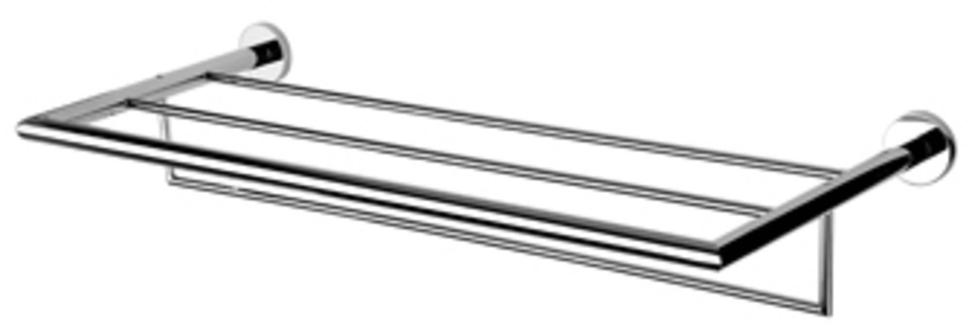 Geesa Nemox badhanddoekrek 60 cm, chroom