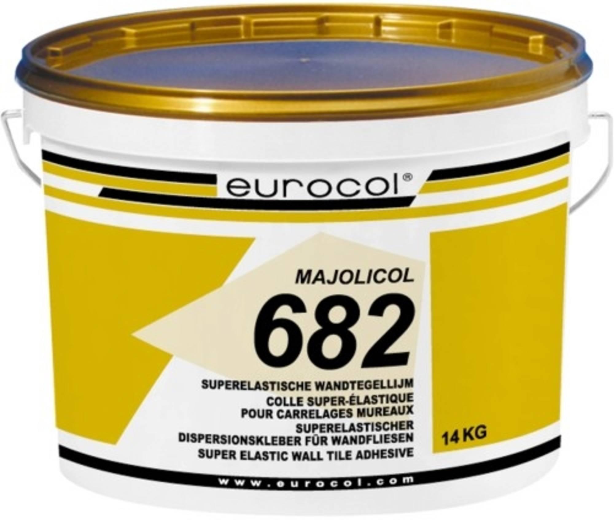 EUROCOL MAJOLICOL pasta tegellijm emmer a 14 kg. (6821)