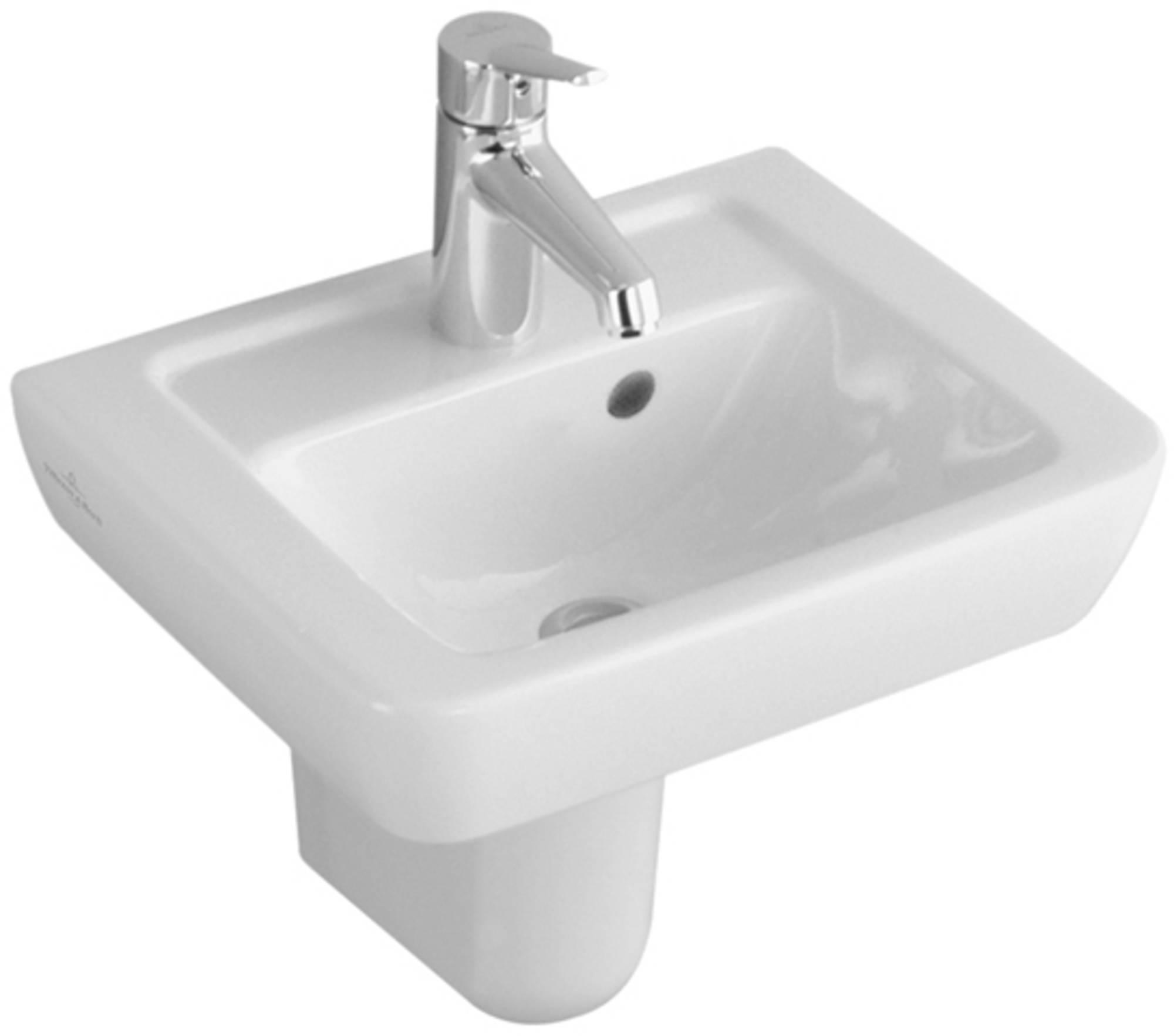 VILLEROY & BOCH SUBWAY 2.0 sifonkap voor fontein+wastafel compact ceramicplus WIT (724400R1)