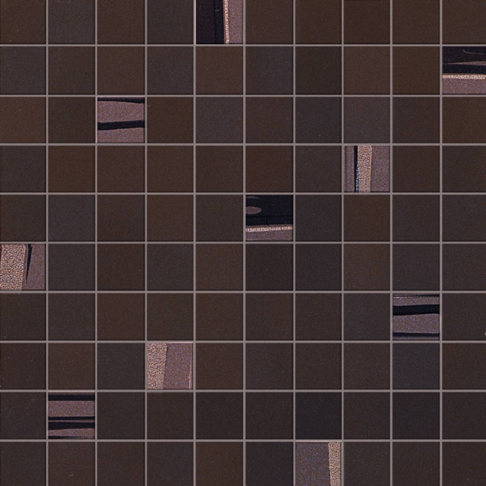 ATLAS CONCORDE INTENSITY tegelmat 30,5 x 30,5 cm. doos a 6 vel square COCOA (8XS2)