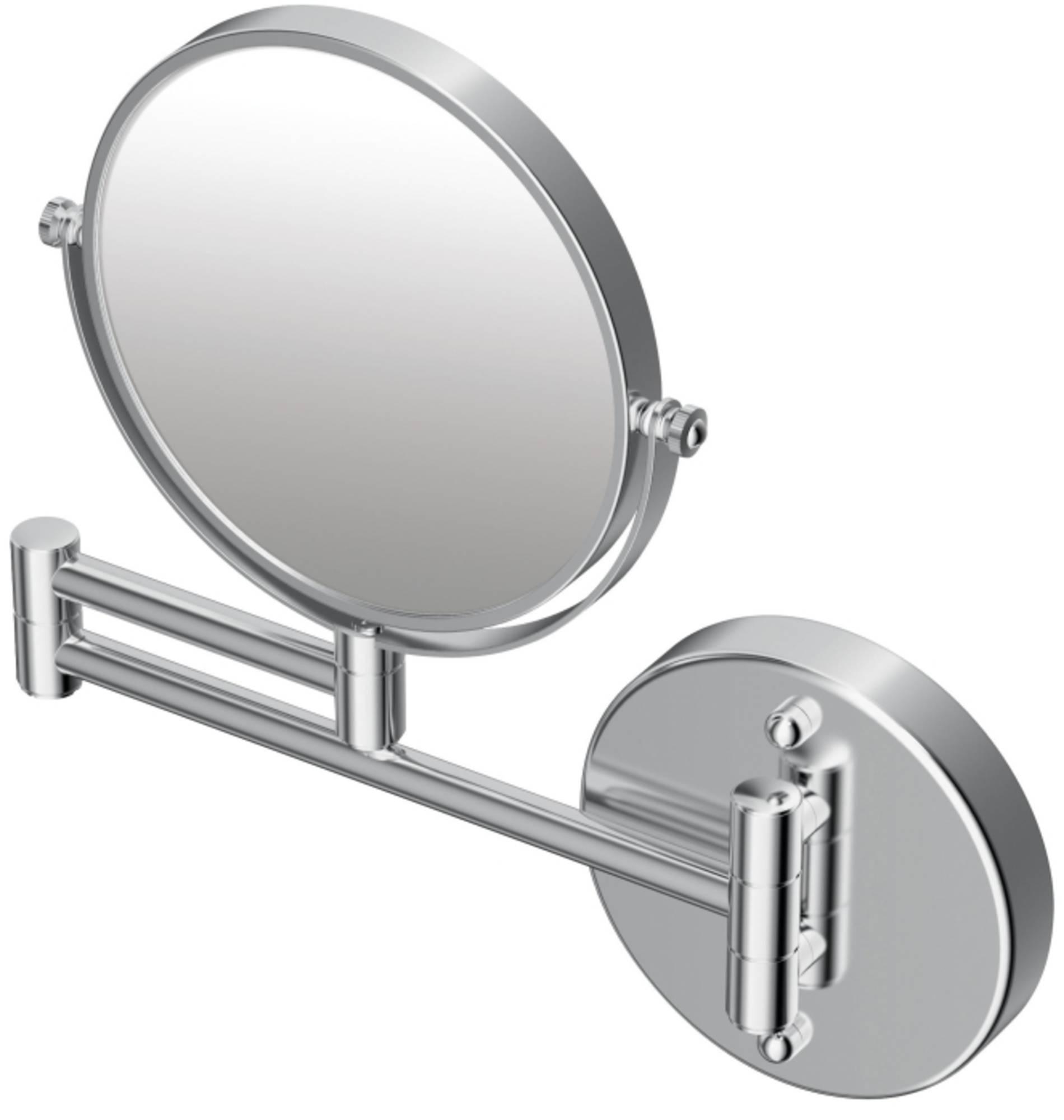 Ideal standard Iom cosmeticaspiegel rond 15.3 cm, met scharnierarm, chroom