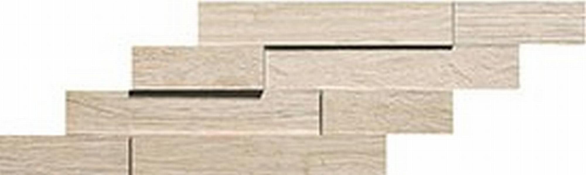 ATLAS CONCORDE AXI tegelmat brick 3d 20 x 44 cm. doos a 4 stuks WHITE PINE (AMWA)