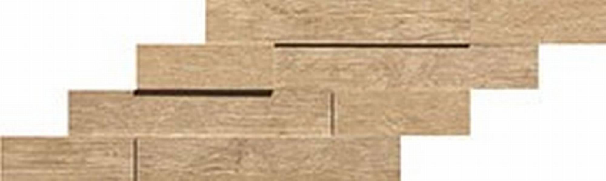 ATLAS CONCORDE AXI tegelmat brick 3d 20 x 44 cm. doos a 4 stuks GOLDEN OAK (AMWB)