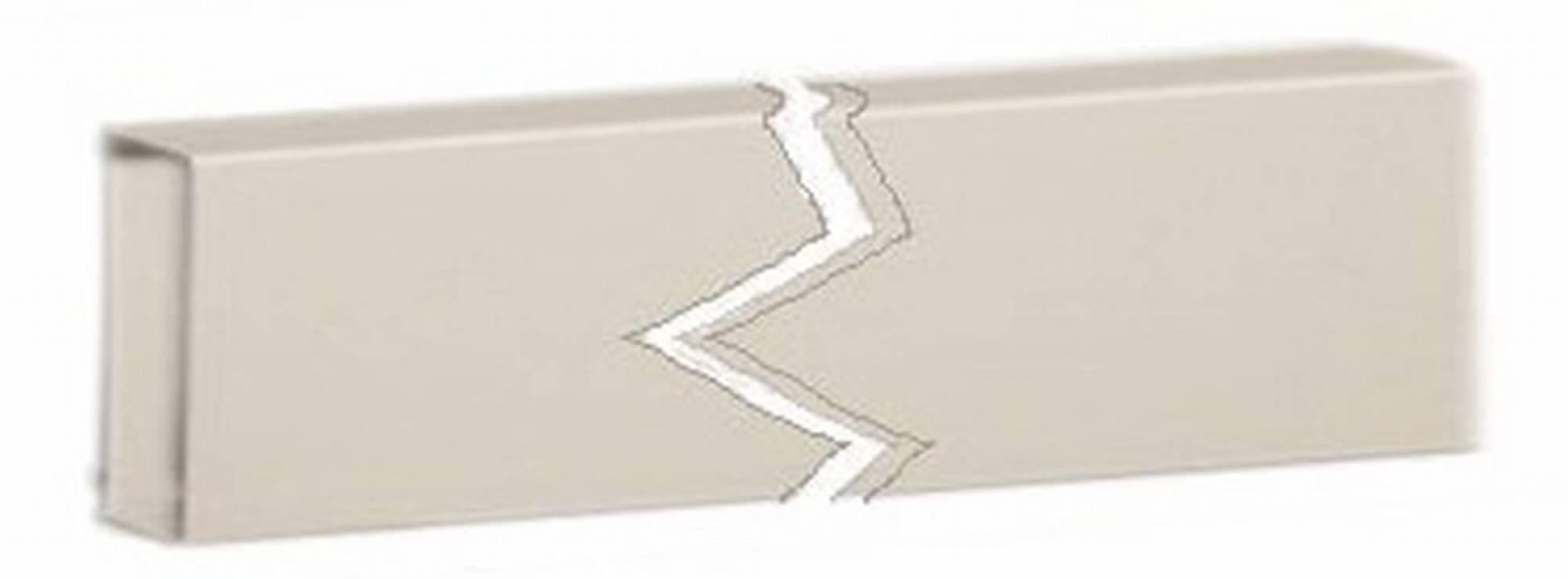AquaSound doorvoerkoker 6x2x200 cm. voor 22 en 27 inch tv Wit