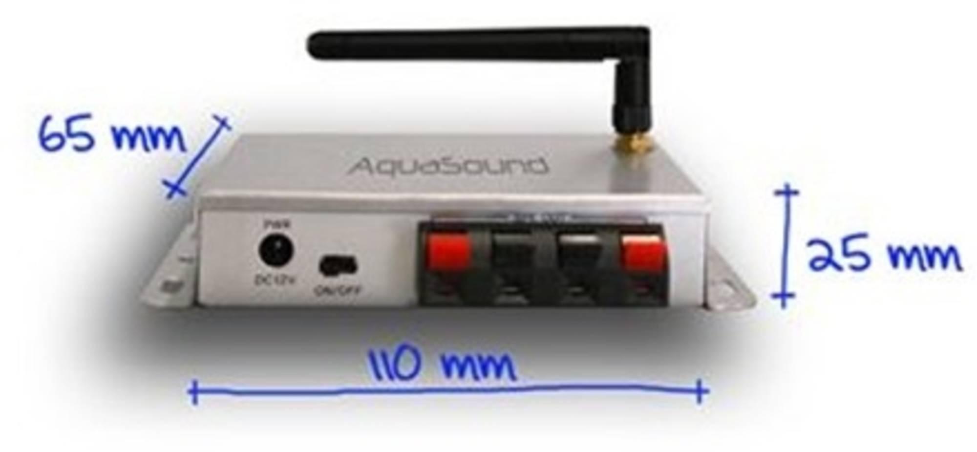 AquaSound bluetooth music center 50w