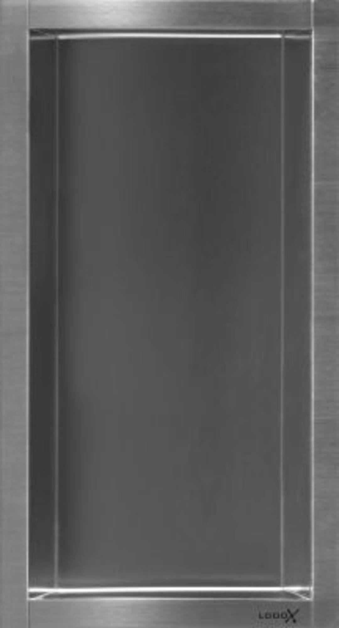 LoooX BoX inbouwnis 15x30x7cm RVS geborsteld BOX 15