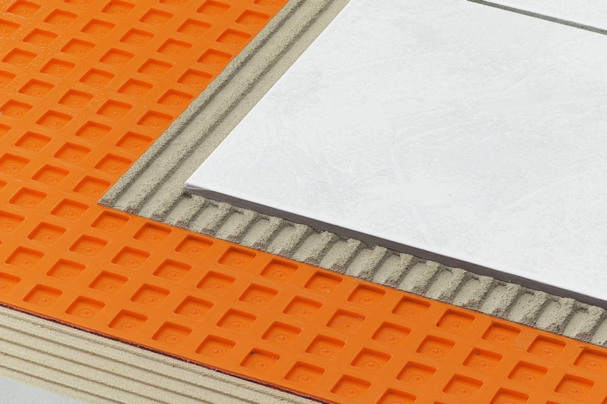 SCHLUTER DITRA polyetyleen mat 100 cm. breed rol 5 mtr. (DITRA255M)