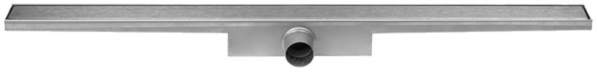 Easydrain Compact zero afvoergoot 6x70 cm, zijuitlaat, rvs