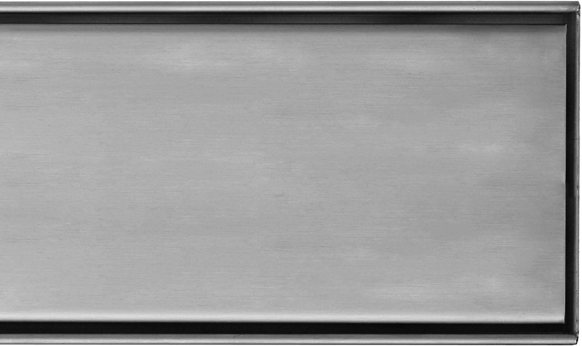 EASYDRAIN MULTI zero-6 rooster 100 cm. geborsteld RVS (EDZ1000M)