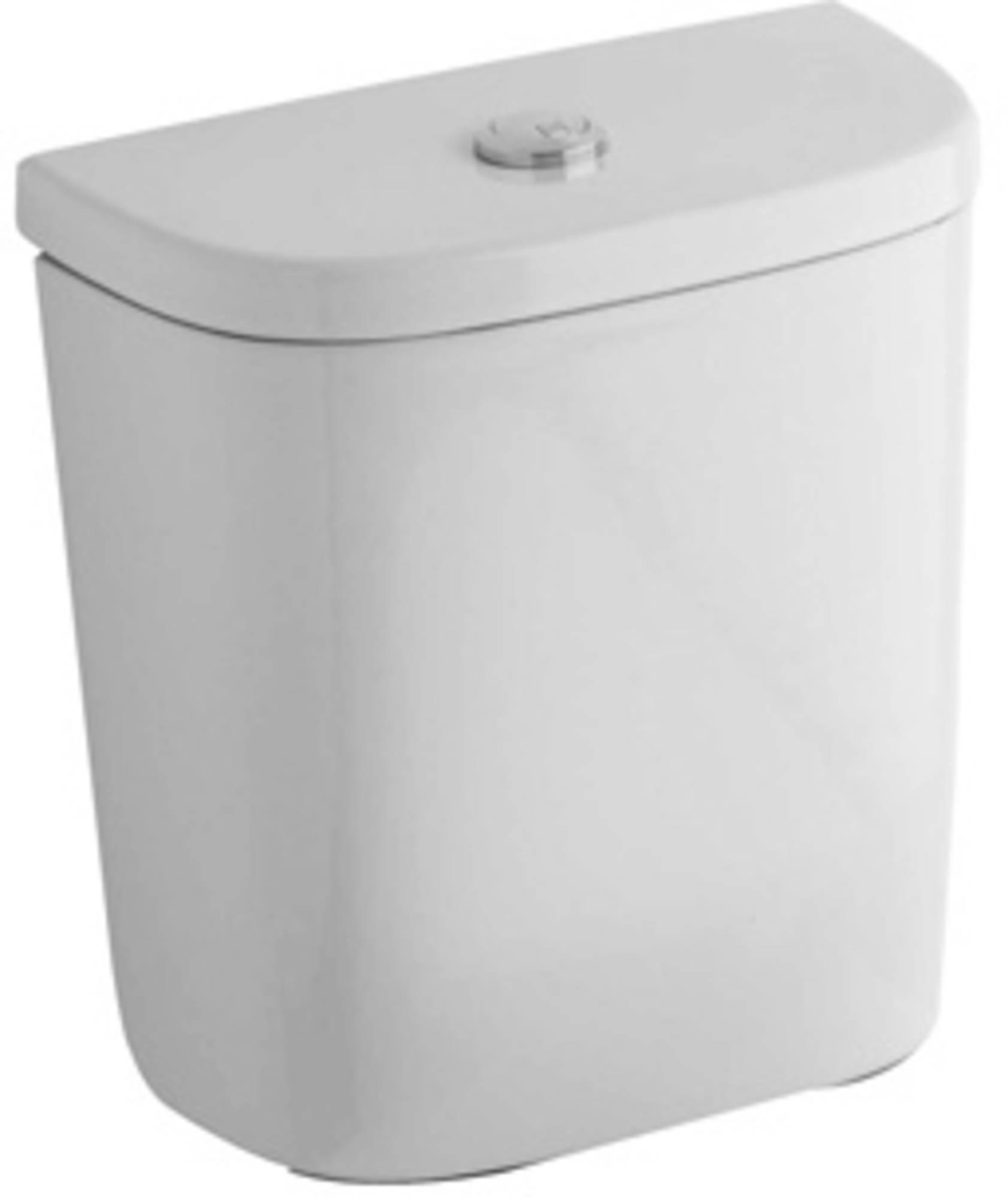 Sphinx Serie 300 basic reservoir compleet onderinlaat, wit