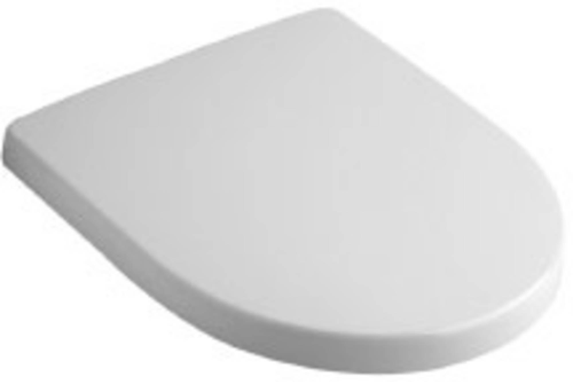 Sphinx Serie 300 basic topfix closetzitting met deksel softclosing, wit