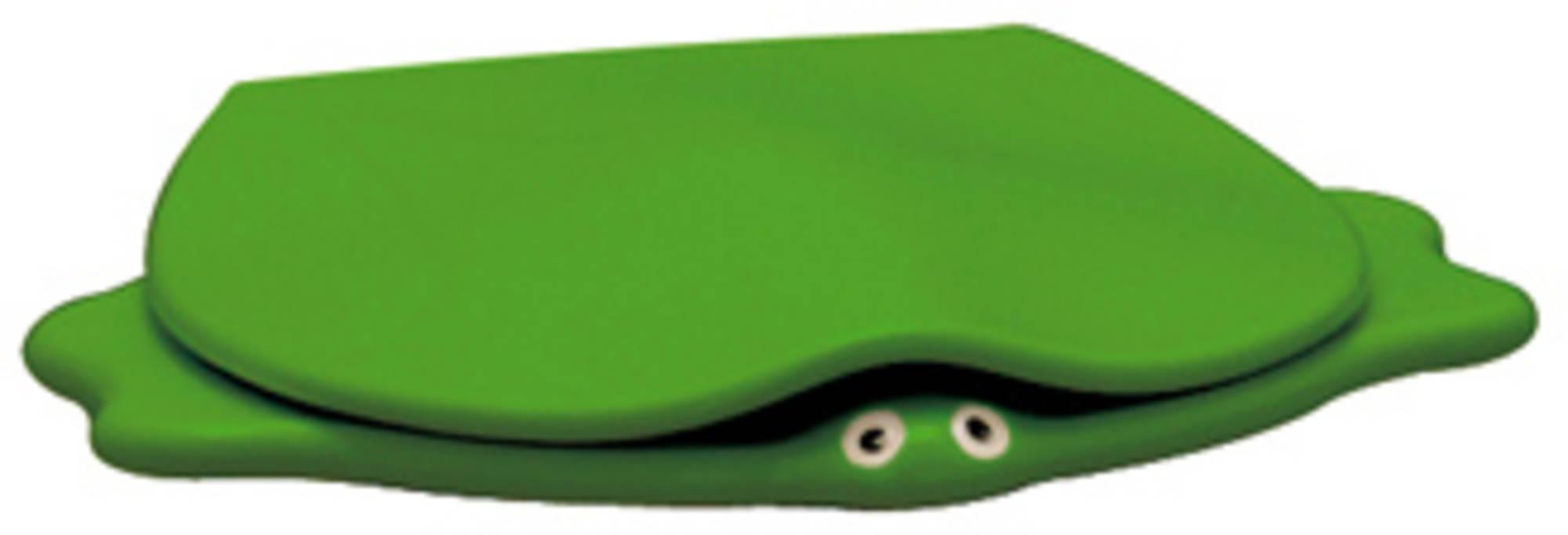 Sphinx Serie 300 kids turtle closetzitting met deksel, groen