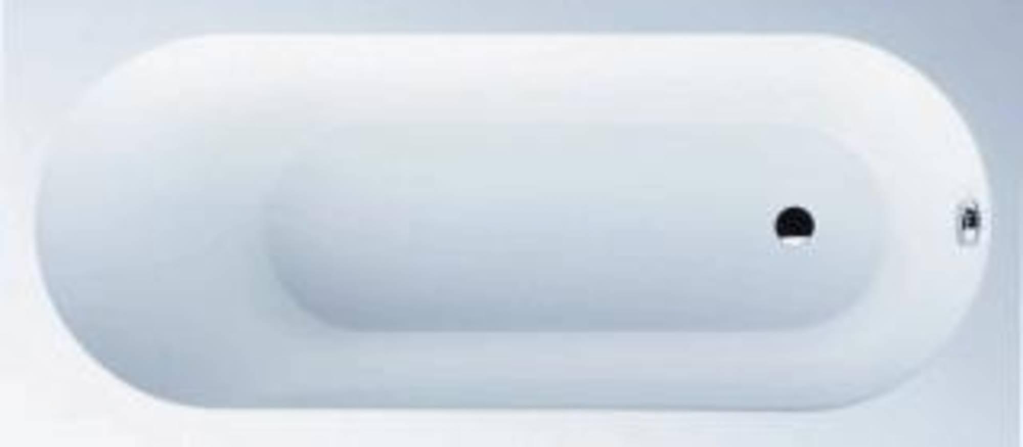 Villeroy&Boch Oberon bad 170 x 70 cm met poten Star White