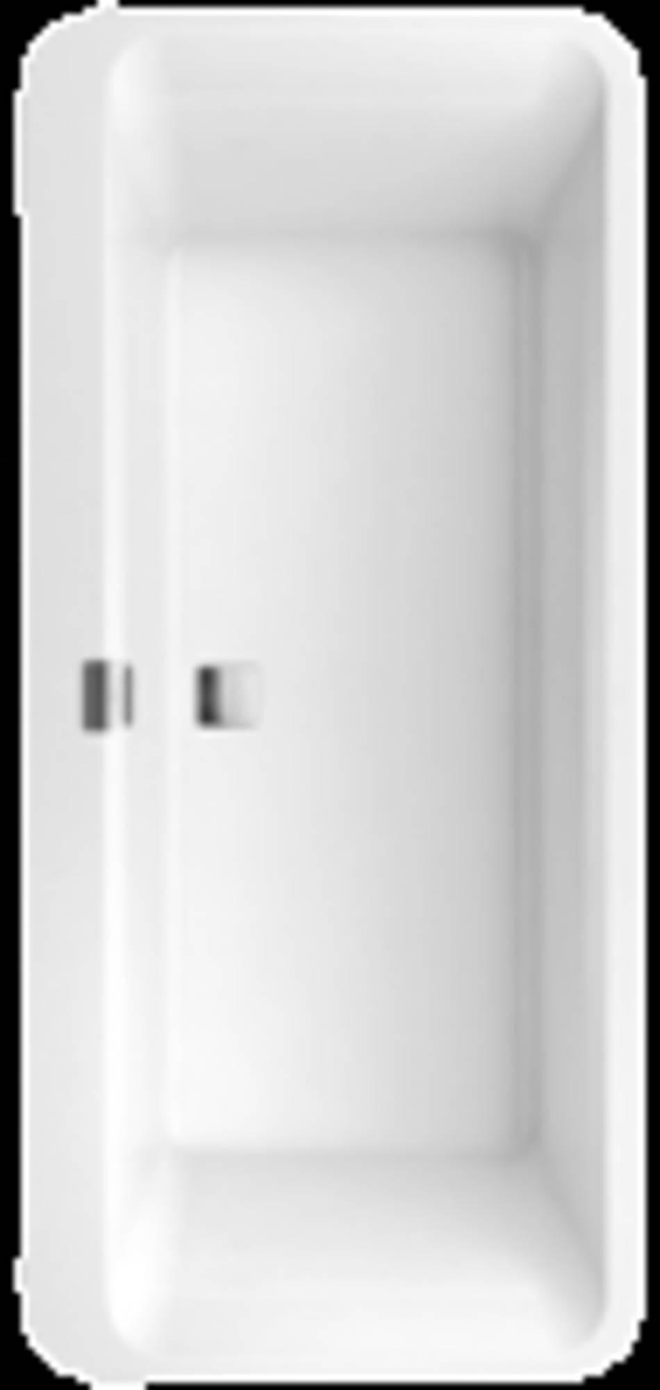 Villeroy&Boch Squaro Edge 12 bad vrijstaand ovaal 180x80cmmet badpanelen Star White